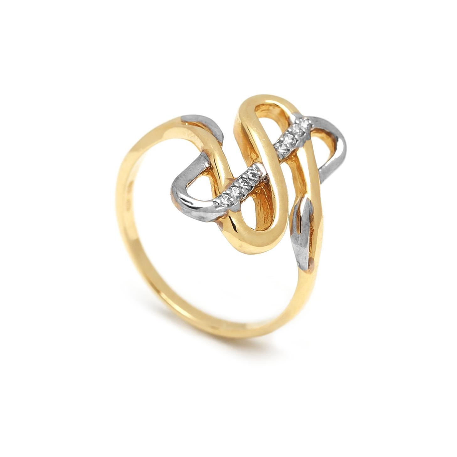 Zlatý dámsky prsteň DOMENICA 1PK00011