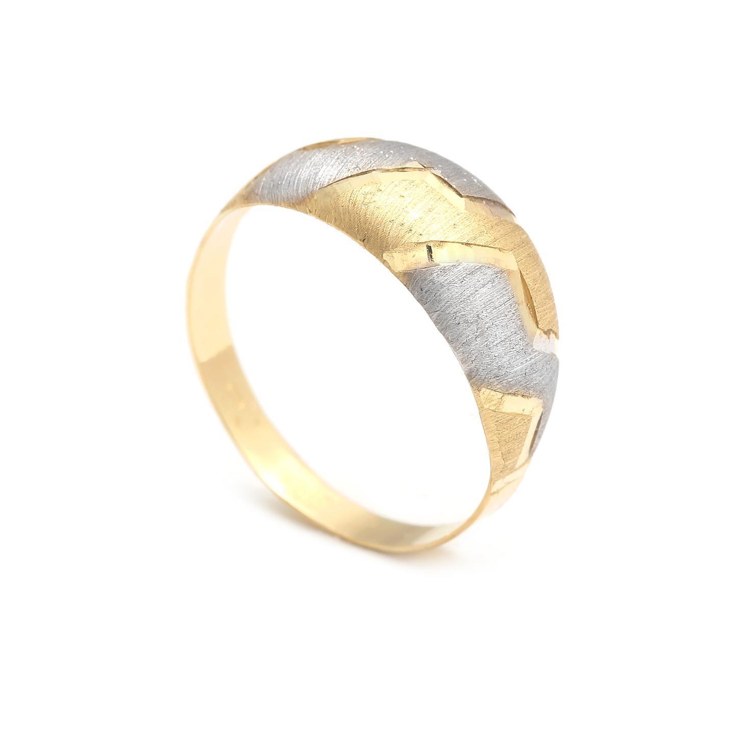Zlatý dámsky prsteň DONOMA 4PK00213