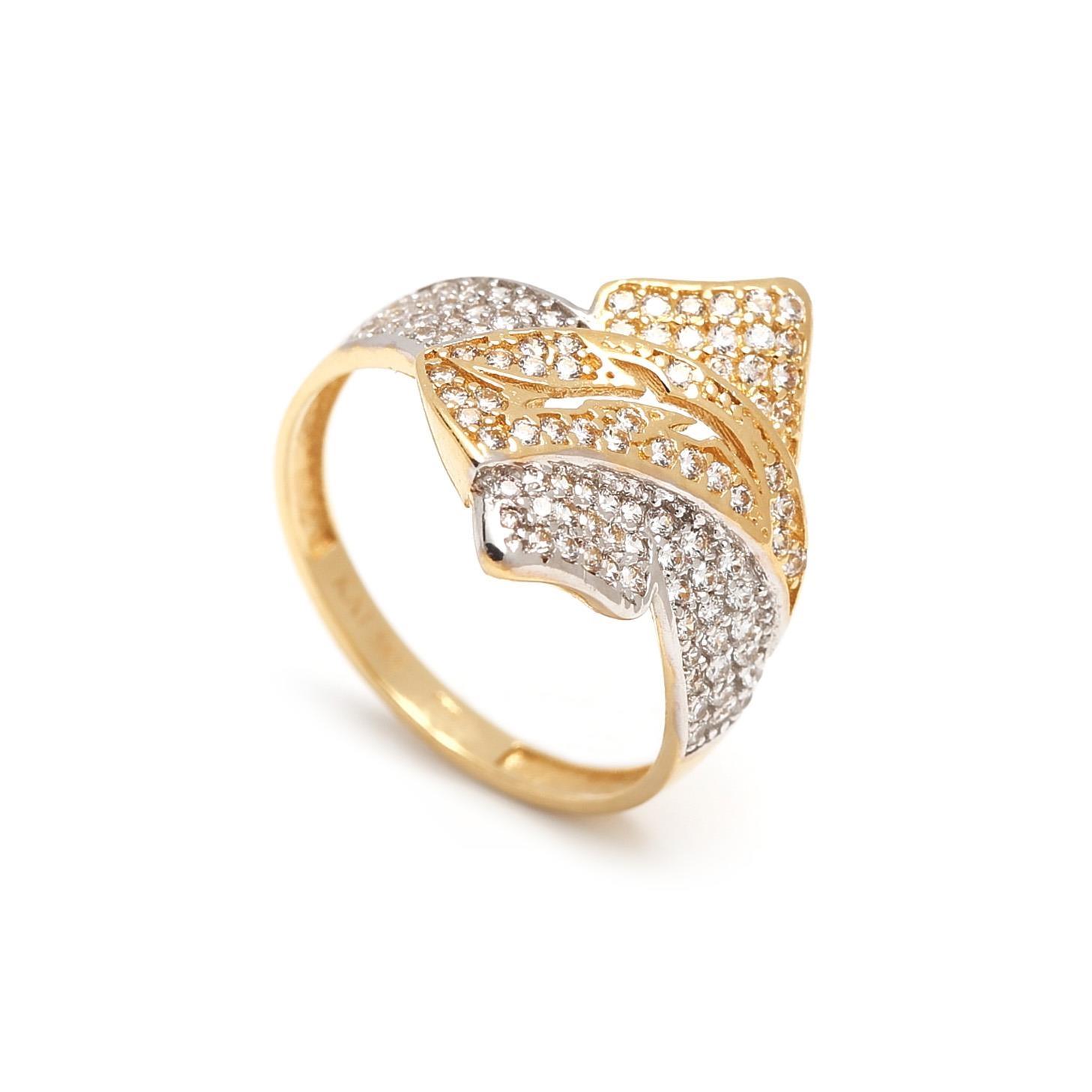 Zlatý dámsky prsteň DRINA 1PK00016