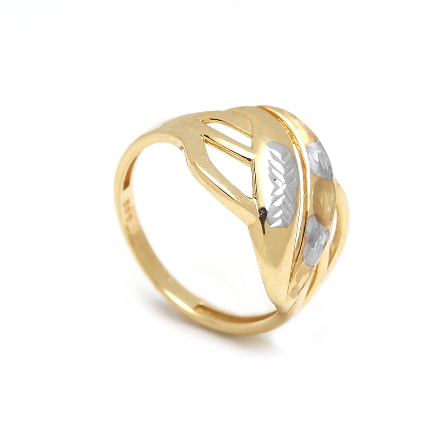 Zlatý dámsky prsteň EDMONDA 1PZ00021