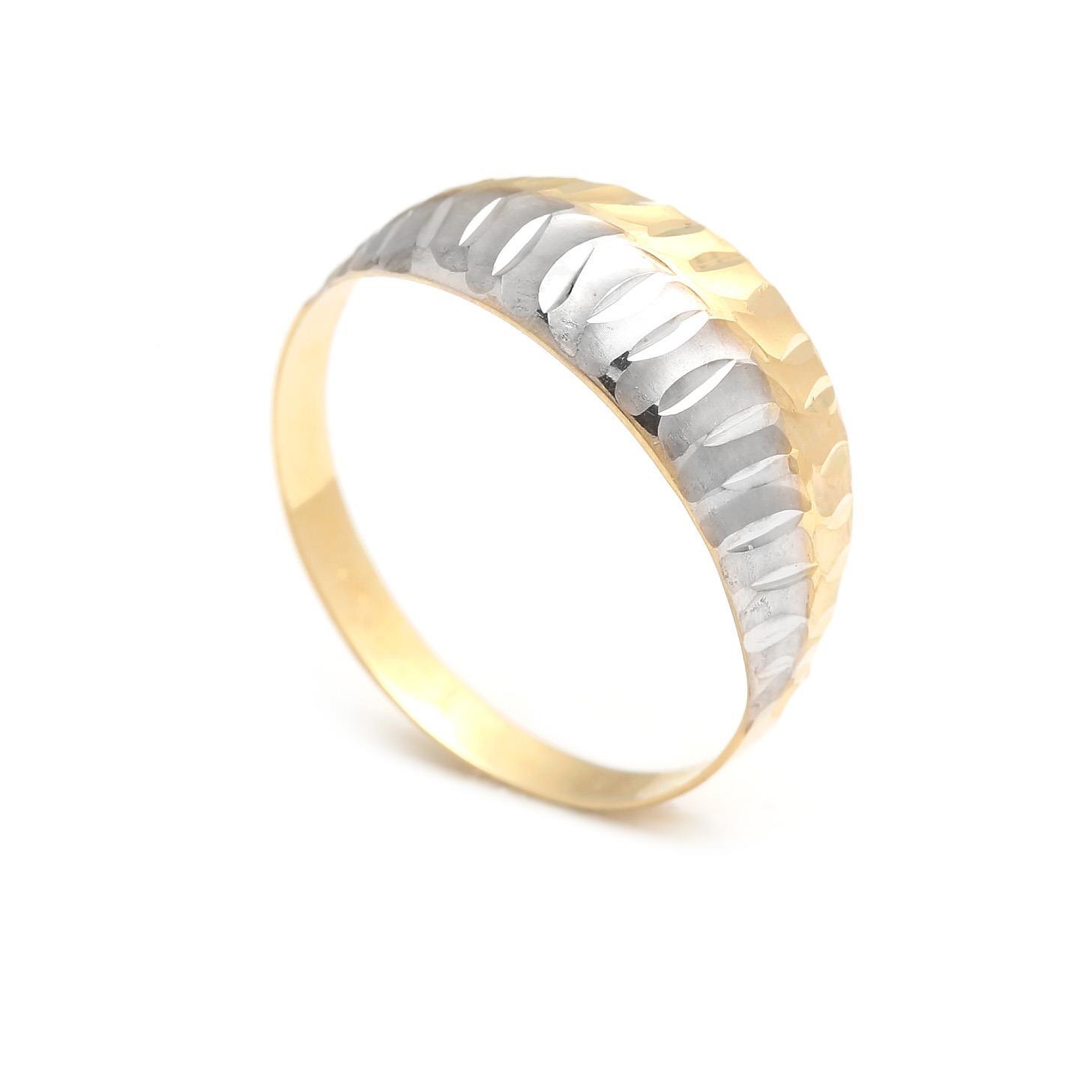 Zlatý dámsky prsteň EHAWEE 4PK00214