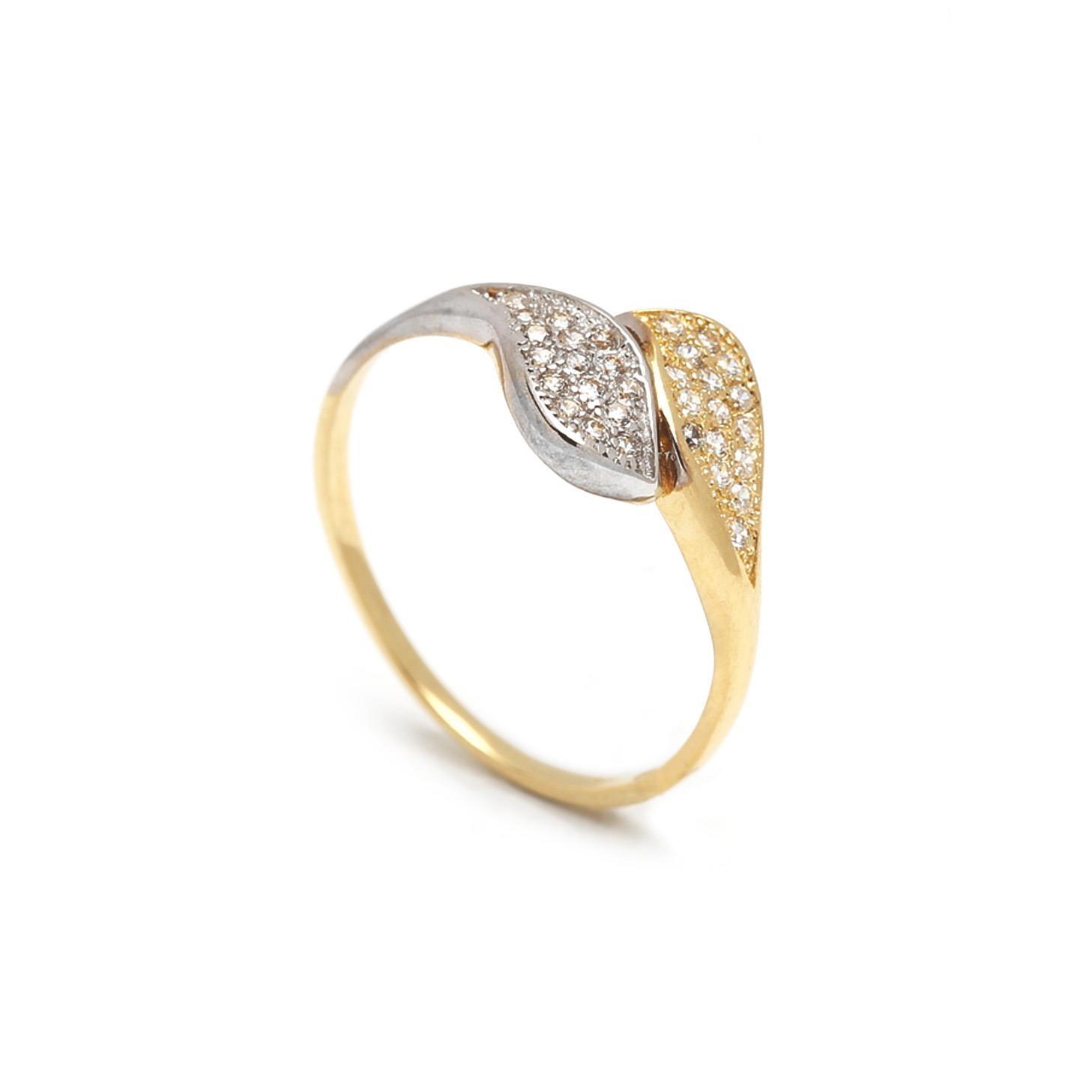 Zlatý dámsky prsteň EMILIANA 1PK00031