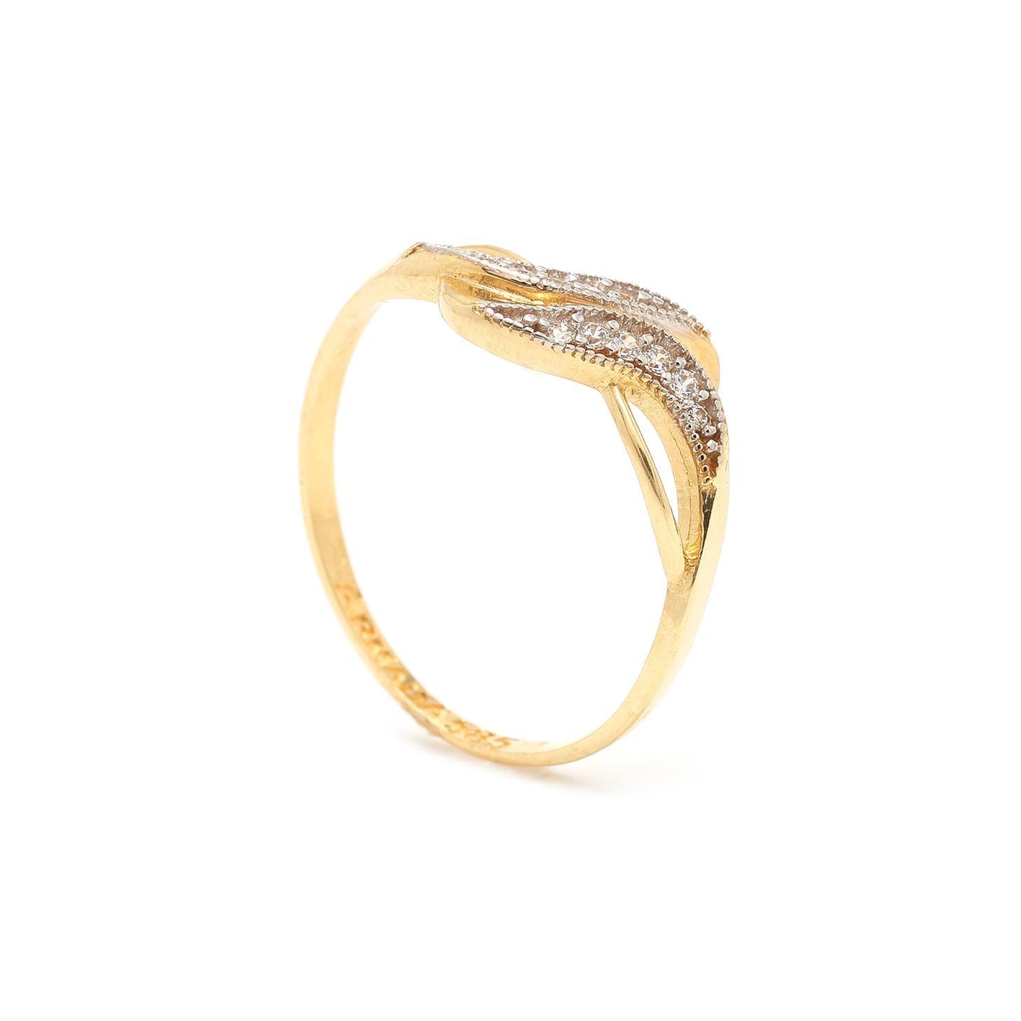 Zlatý dámsky prsteň EMINE 1 7PZ00326