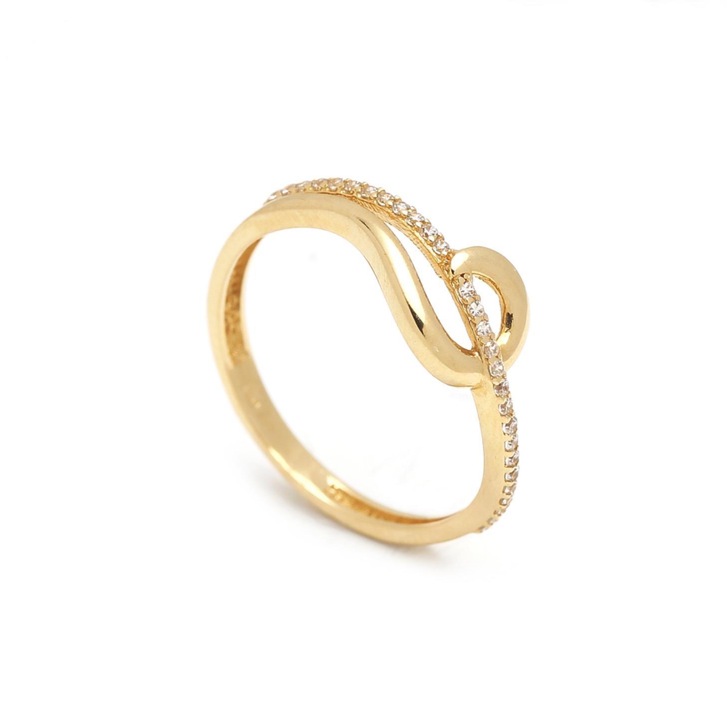 Zlatý dámsky prsteň ENRICA 1PZ00032