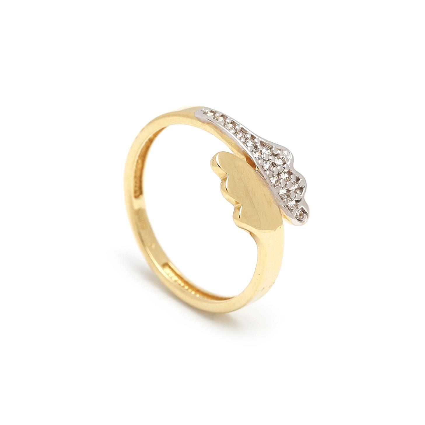 Zlatý dámsky prsteň ERSILIA 1PZ00036