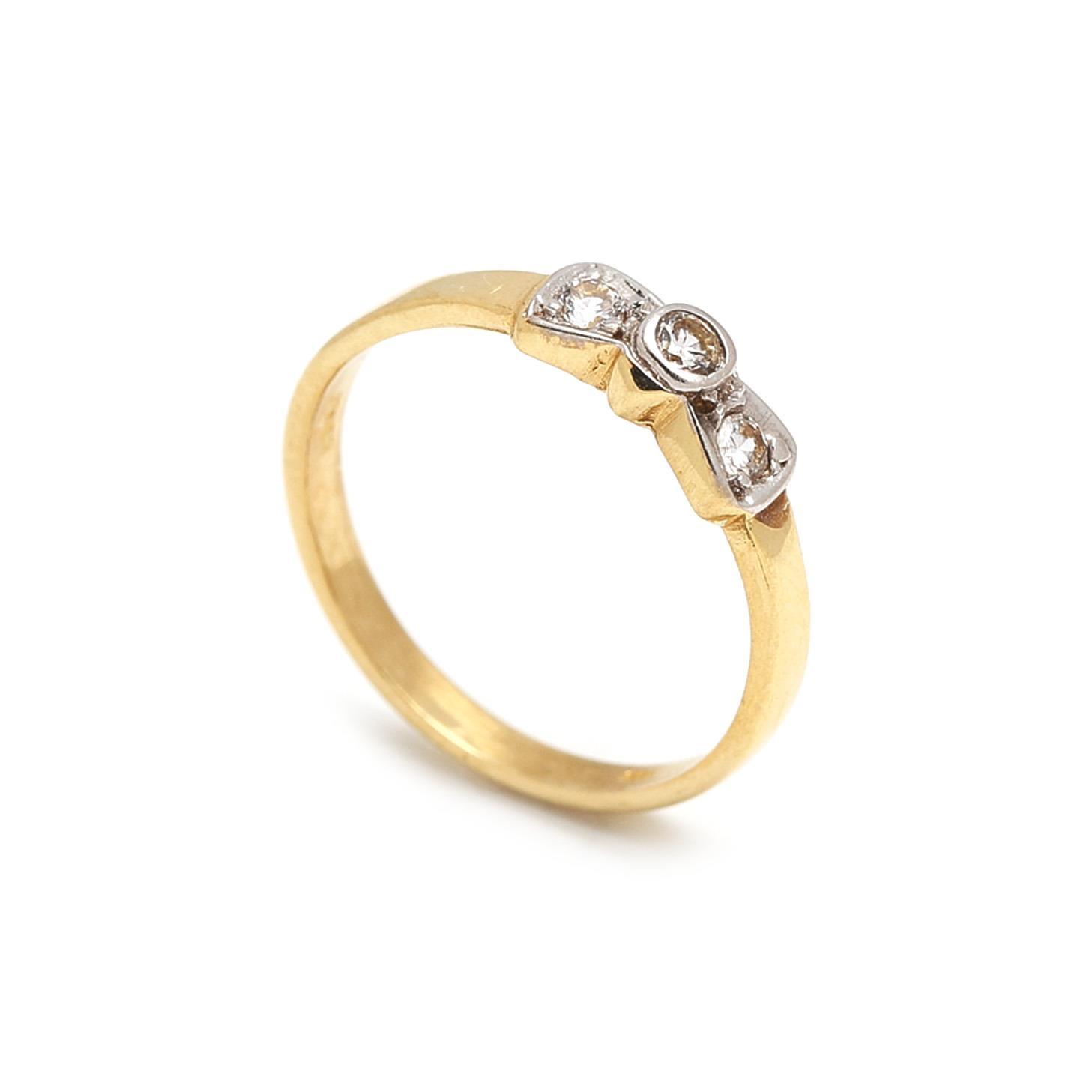 Zlatý dámsky prsteň EUFEMIA 1PZ00037