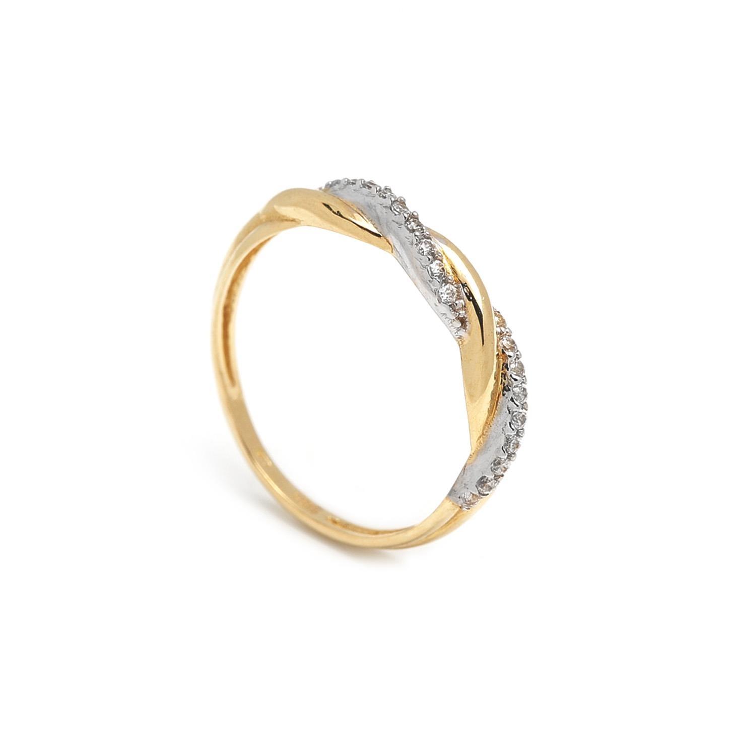 Zlatý dámsky prsteň EULA 1PZ00038