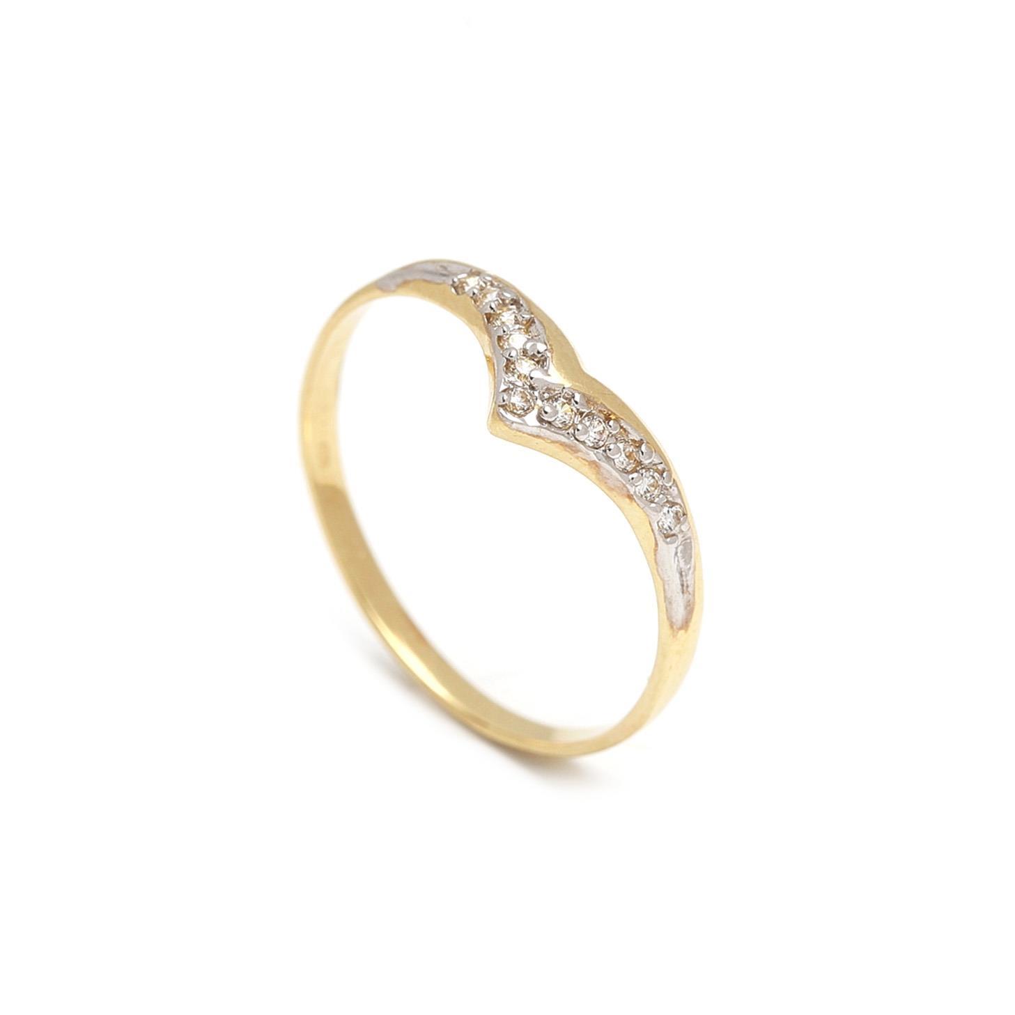 Zlatý dámsky prsteň EULALIA 1PZ00039