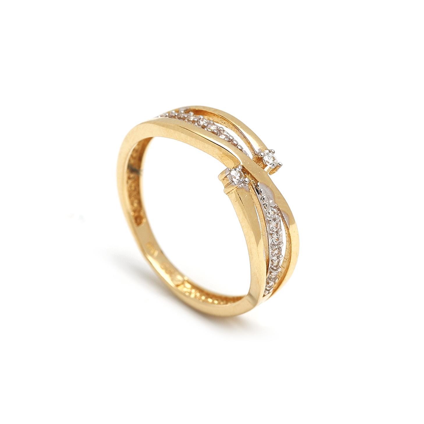 Zlatý dámsky prsteň FERDINANDA 1PZ00044