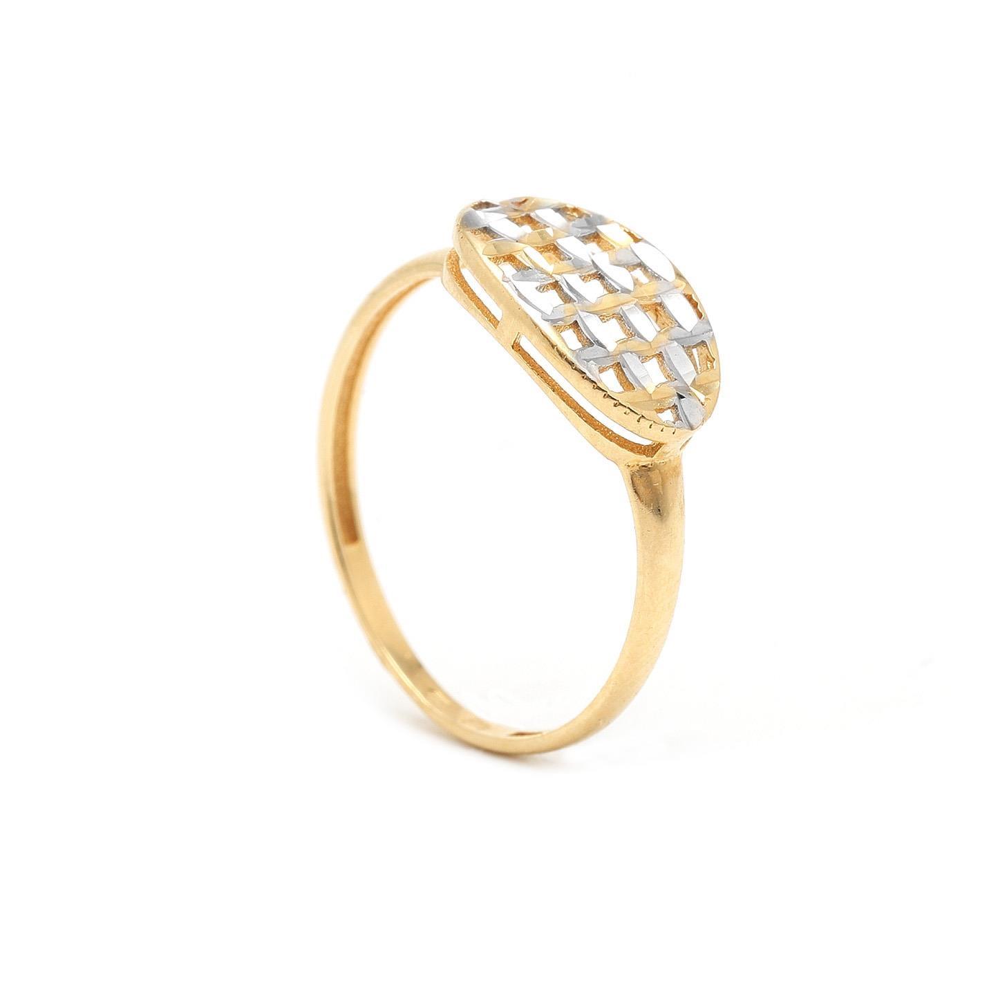 Zlatý dámsky prsteň FIDAN 7PZ00315