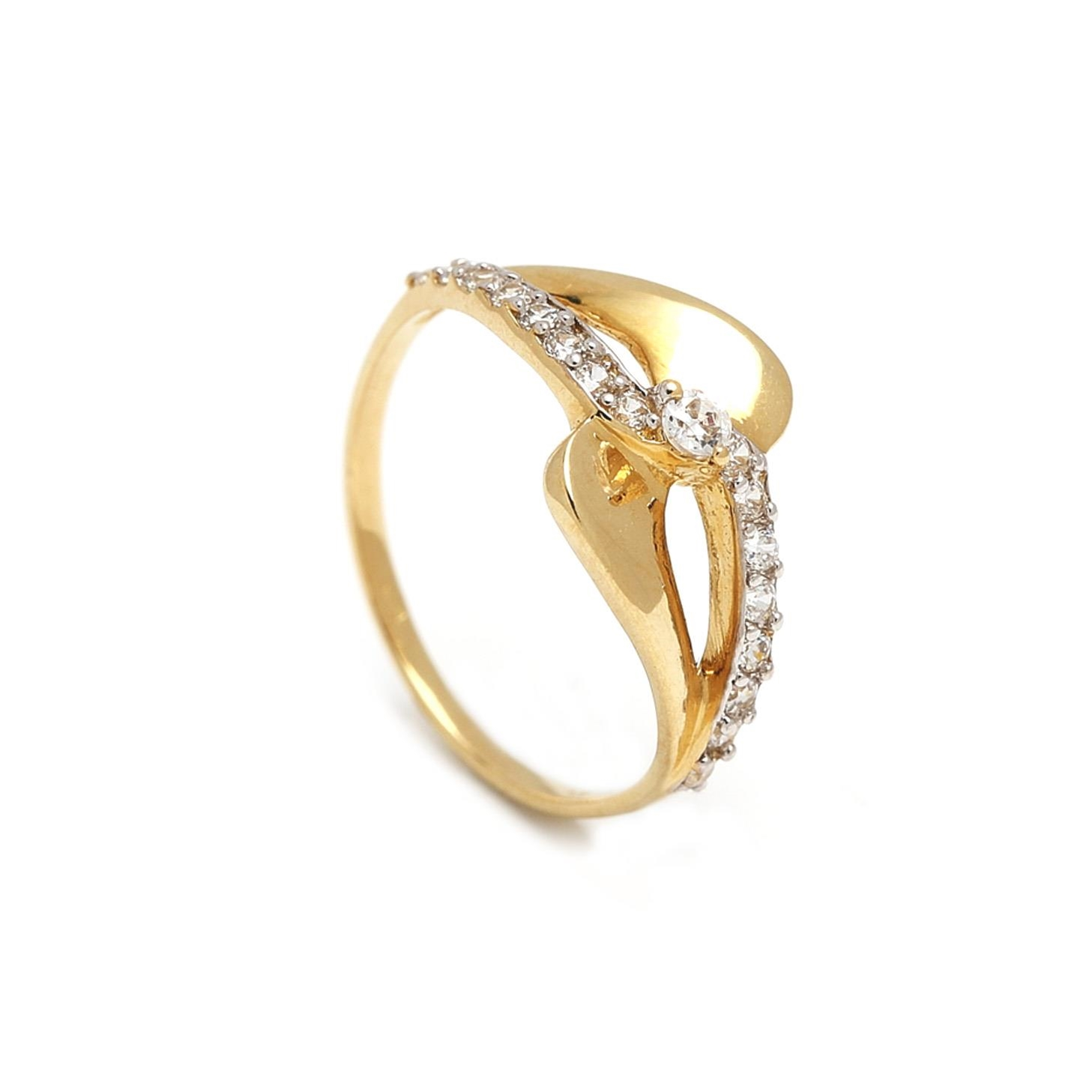 Zlatý dámsky prsteň FIORENZA 1PZ00051