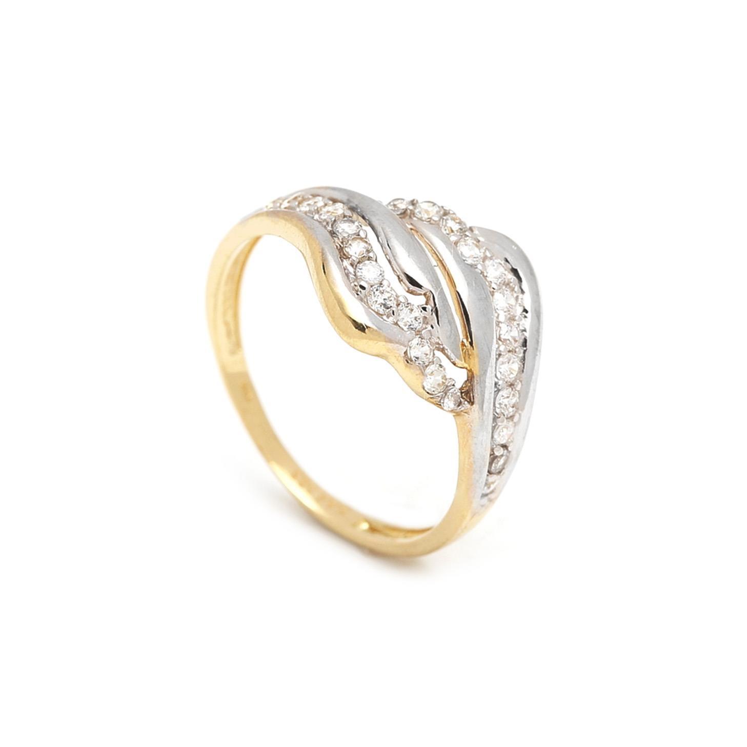 Zlatý dámsky prsteň FLORIANA 1PZ00053