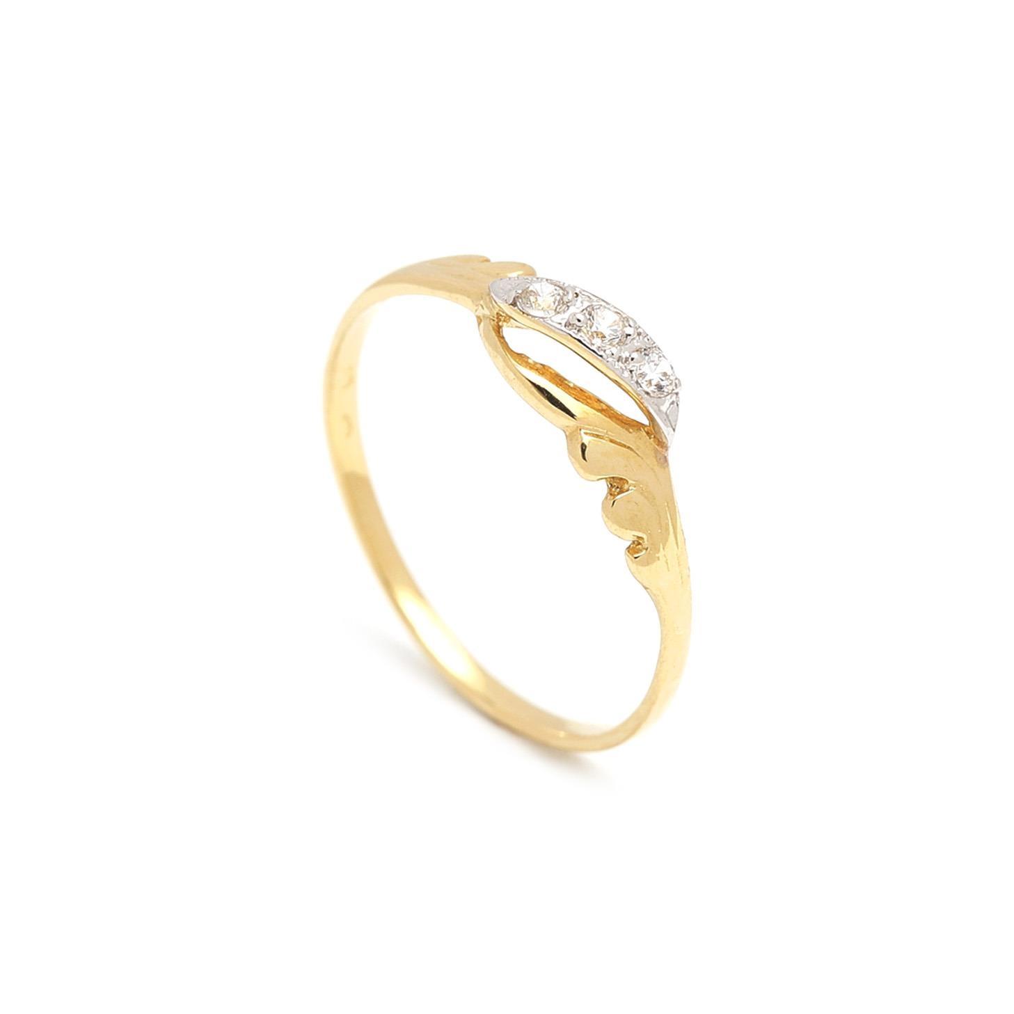 Zlatý dámsky prsteň FORTUNATA 1PZ00054