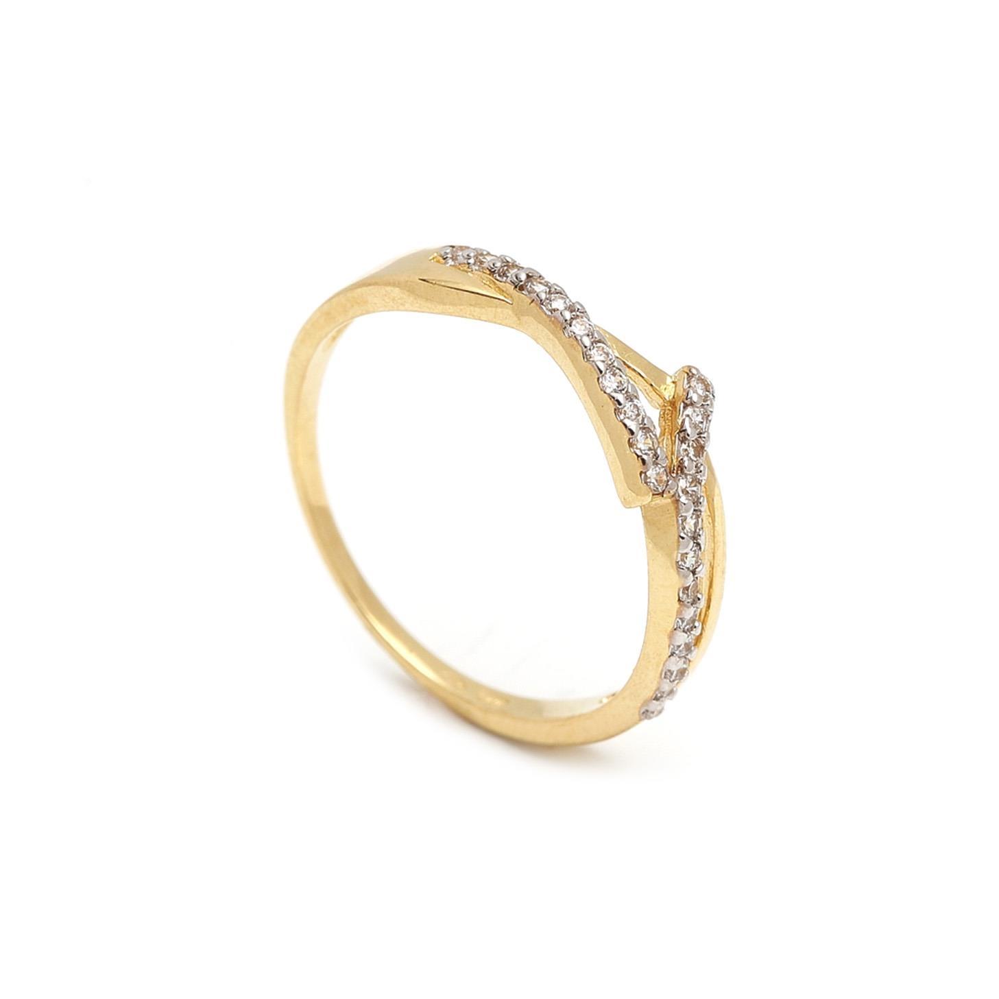 Zlatý dámsky prsteň FULVIA 1PZ00057
