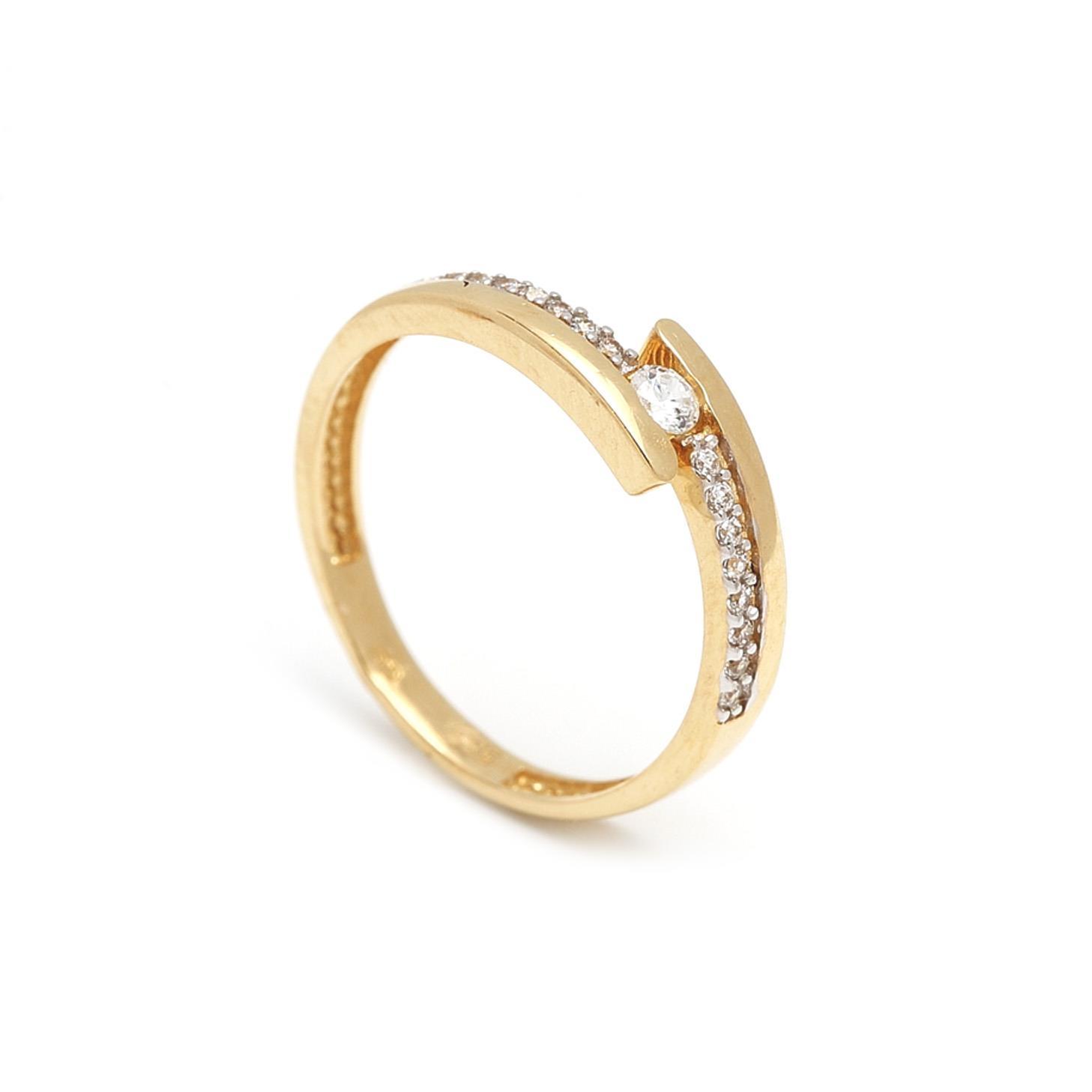 Zlatý dámsky prsteň GABRIELLA 1PZ00058