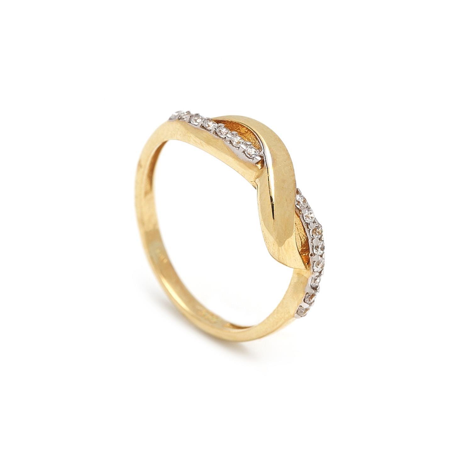 Zlatý dámsky prsteň GAETANA 1PZ00059