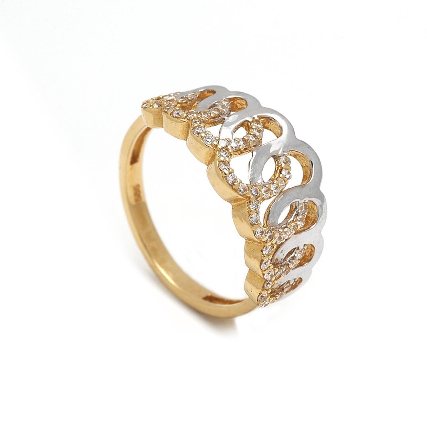 Zlatý dámsky prsteň GIACHETTA 1PK00064