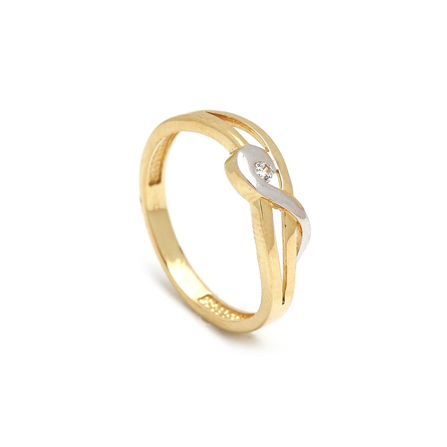 Zlatý dámsky prsteň GIADA 1PZ00066