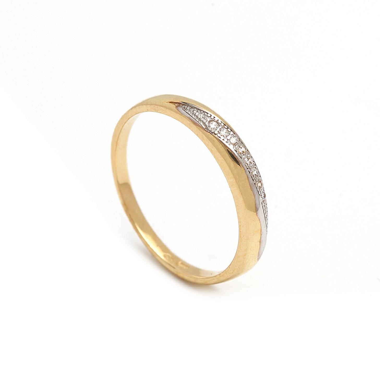Zlatý dámsky prsteň GILDA 1PZ00068