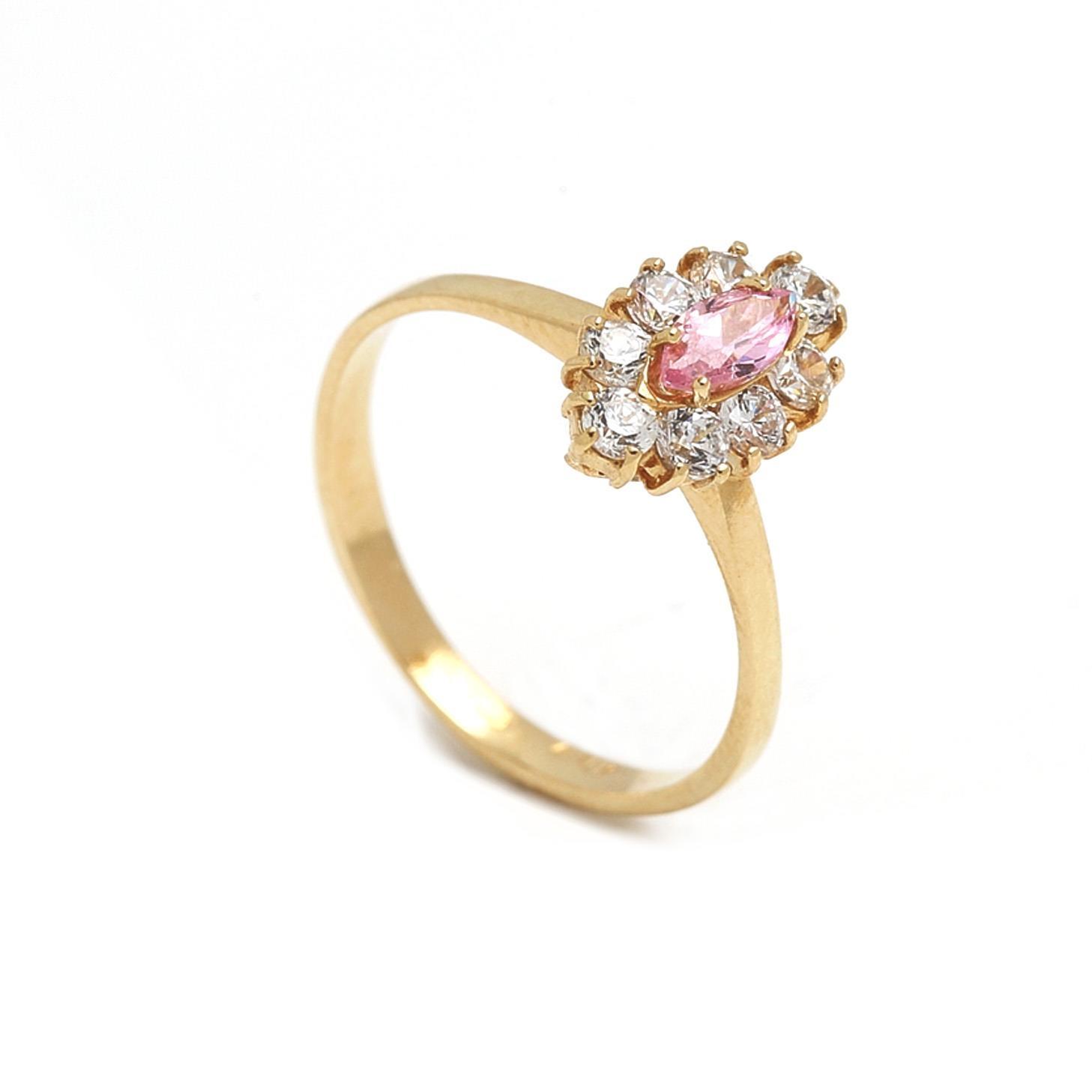 Zlatý dámsky prsteň GINA 1PZ00069