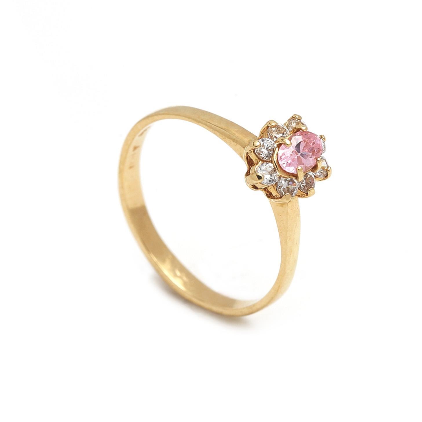 Zlatý dámsky prsteň GINEVRA 1PZ00070