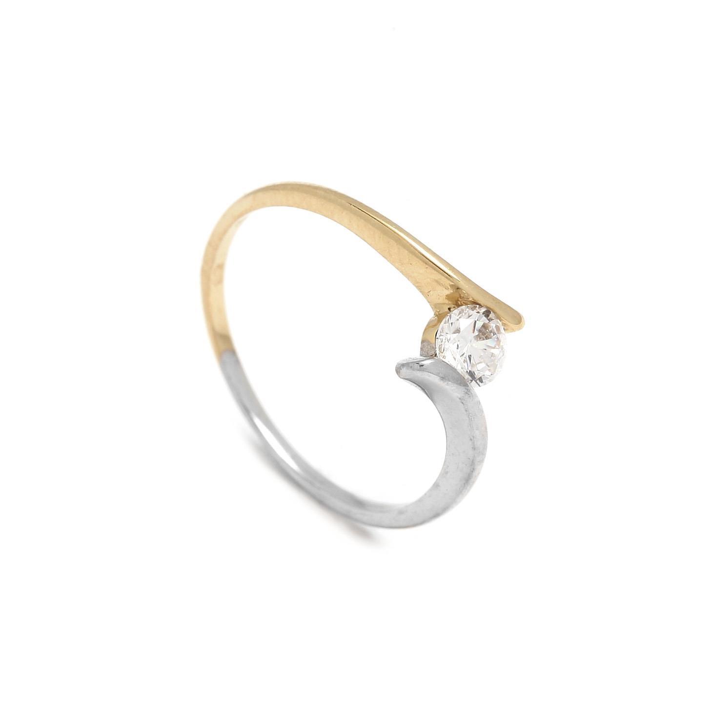 Zlatý dámsky prsteň GIOFFREDA 1PK00072