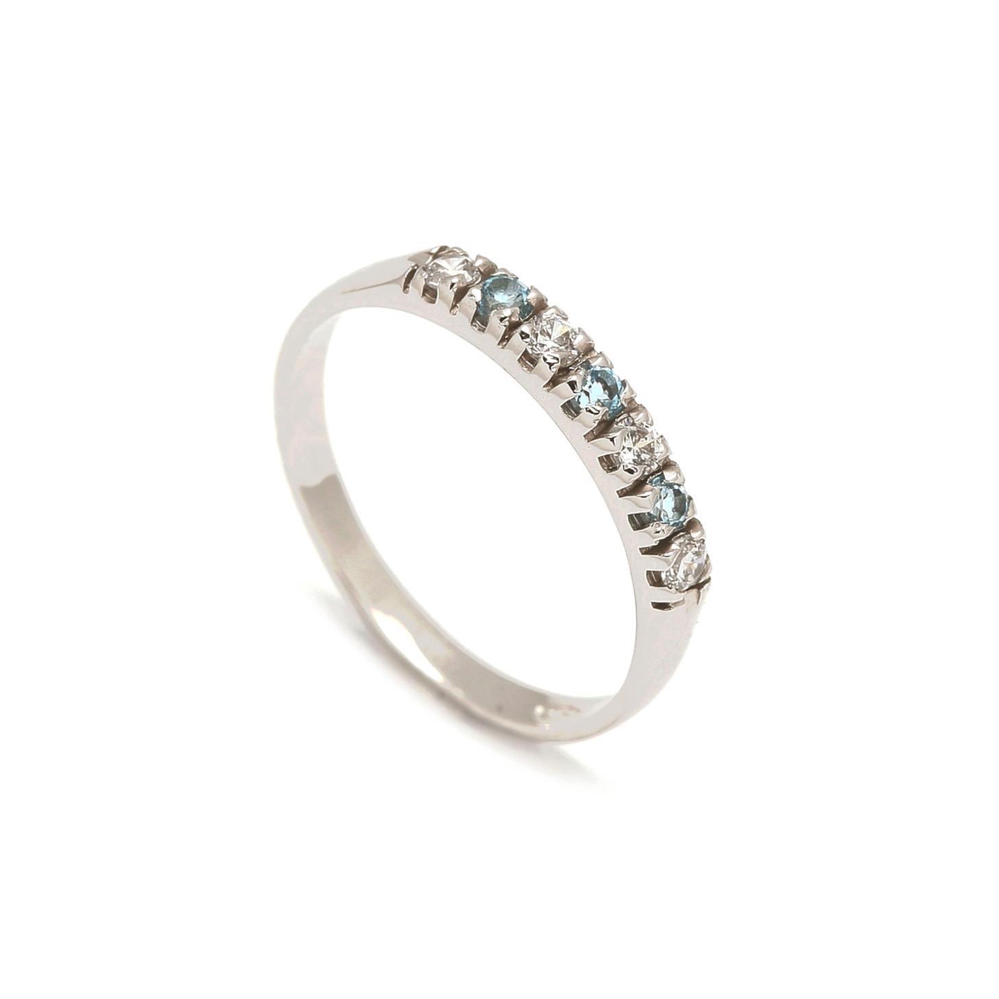 Zlatý dámsky prsteň GIOVANNA blue 1PB00079