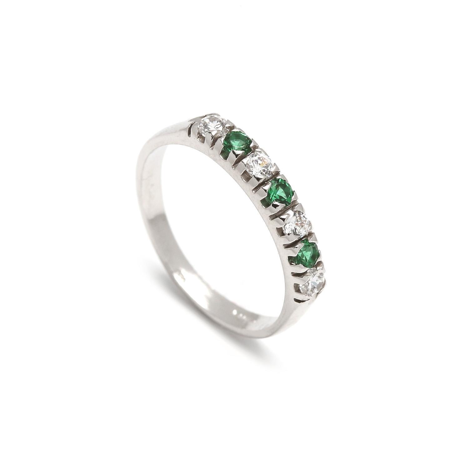 Zlatý dámsky prsteň GIOVANNA green 1PB00078