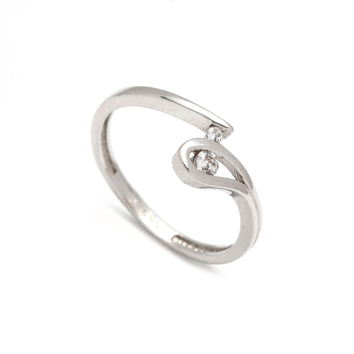 Zlatý dámsky prsteň GIUSEPPINA 1PB00086
