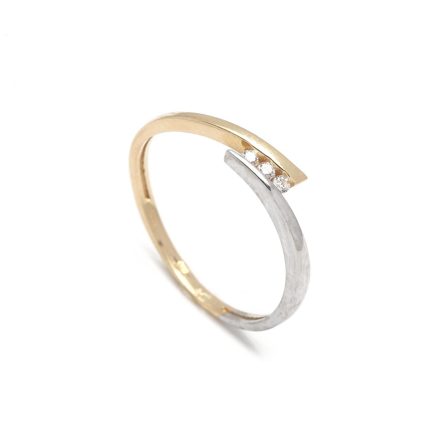 Zlatý dámsky prsteň GRAZIELLA 1PK00090