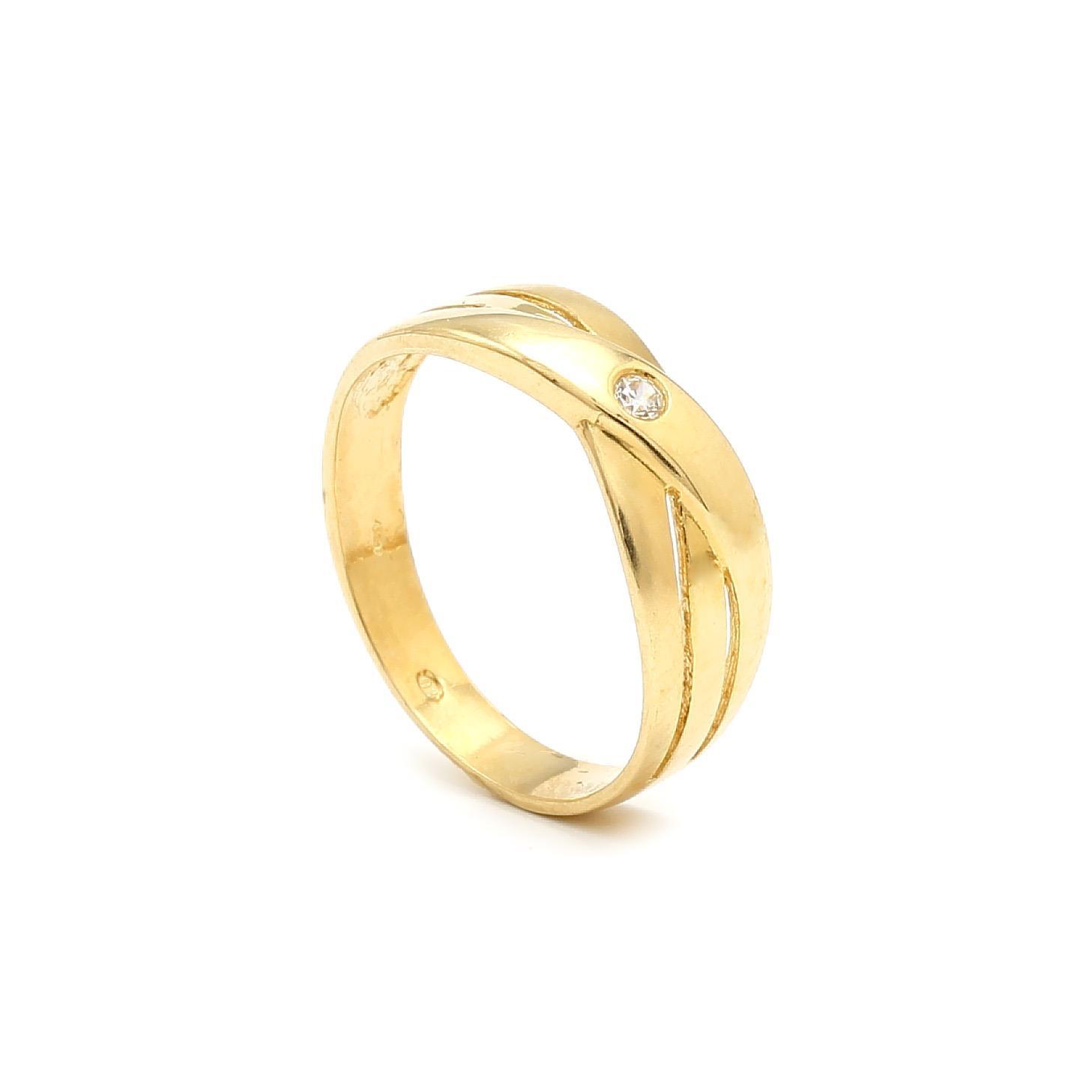 Zlatý dámsky prsteň HEDVIGA 6PZ00303