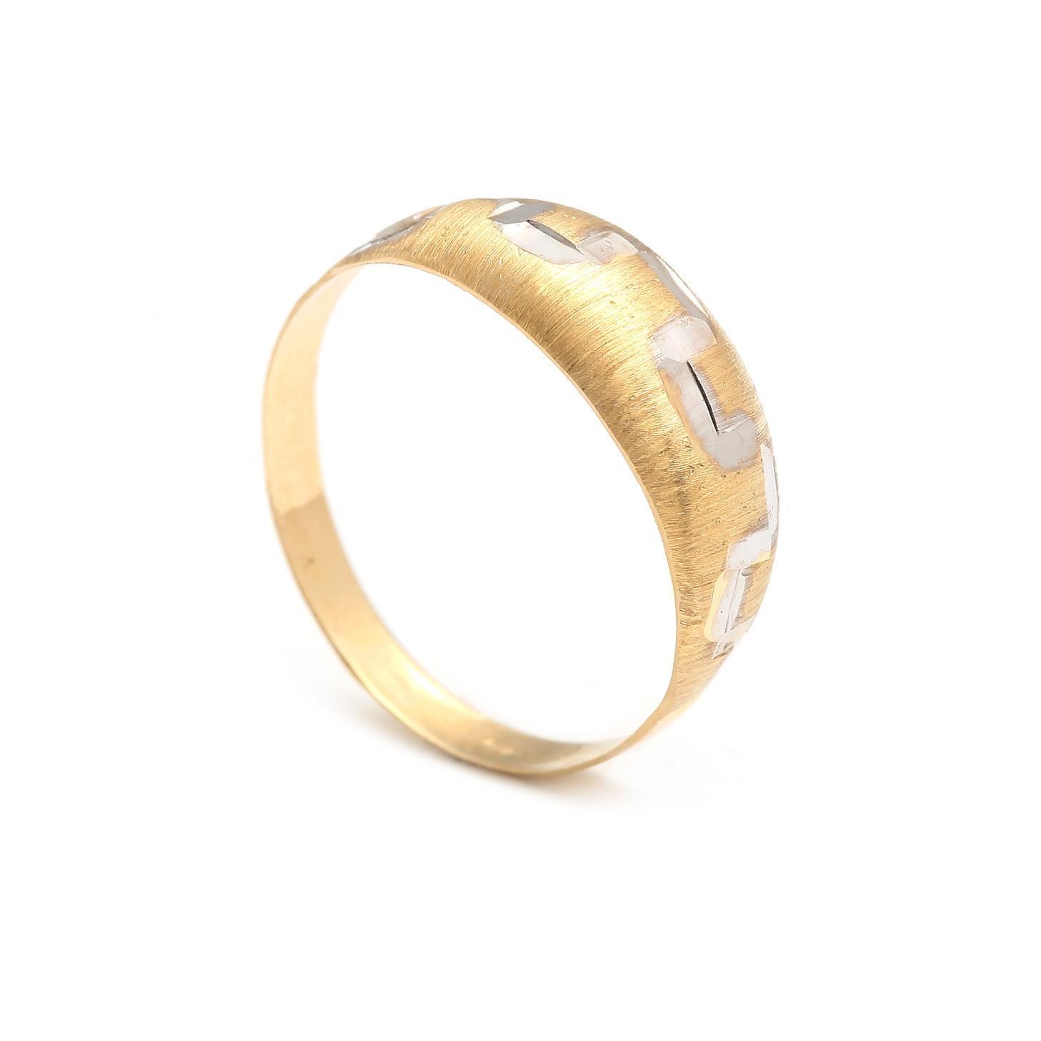 Zlatý dámsky prsteň HUYANA 4PK00218