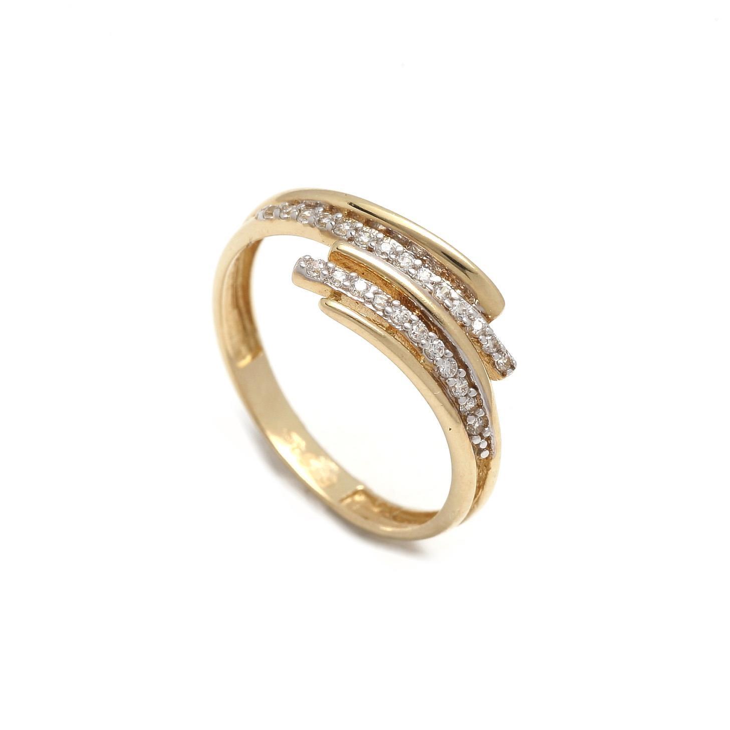 Zlatý dámsky prsteň IMMACOLATA 1PZ00095