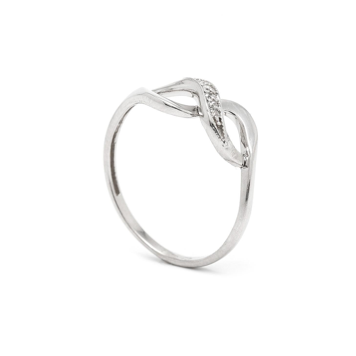 Zlatý dámsky prsteň JENIFFER 7PB00345