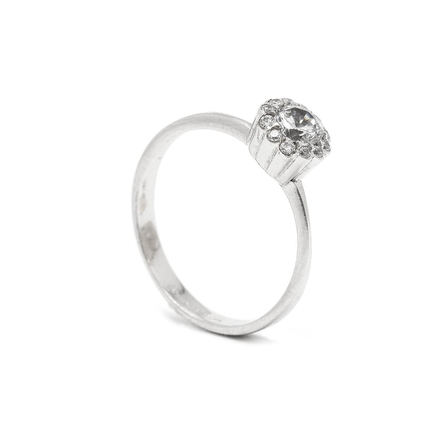 Zlatý dámsky prsteň KLARA 7PB00395