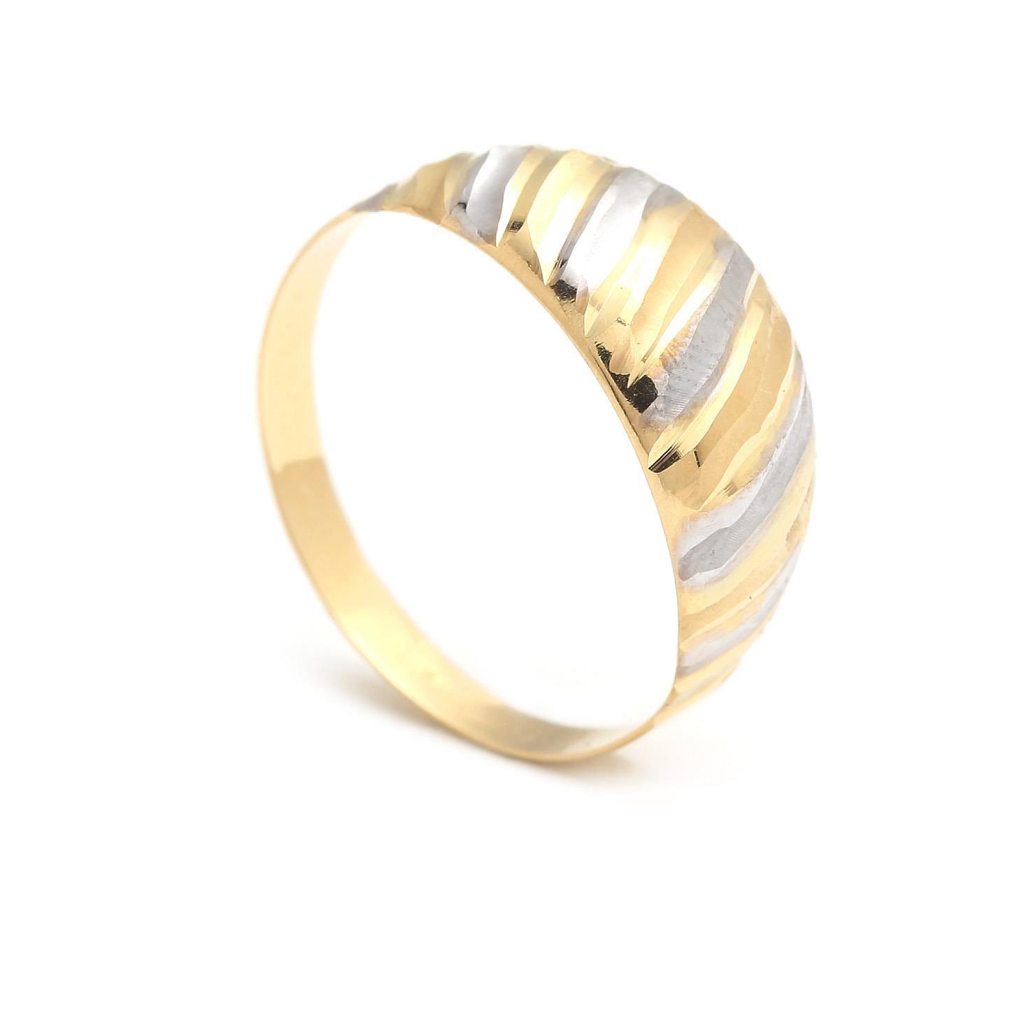 Zlatý dámsky prsteň MACAWI 4PK00225