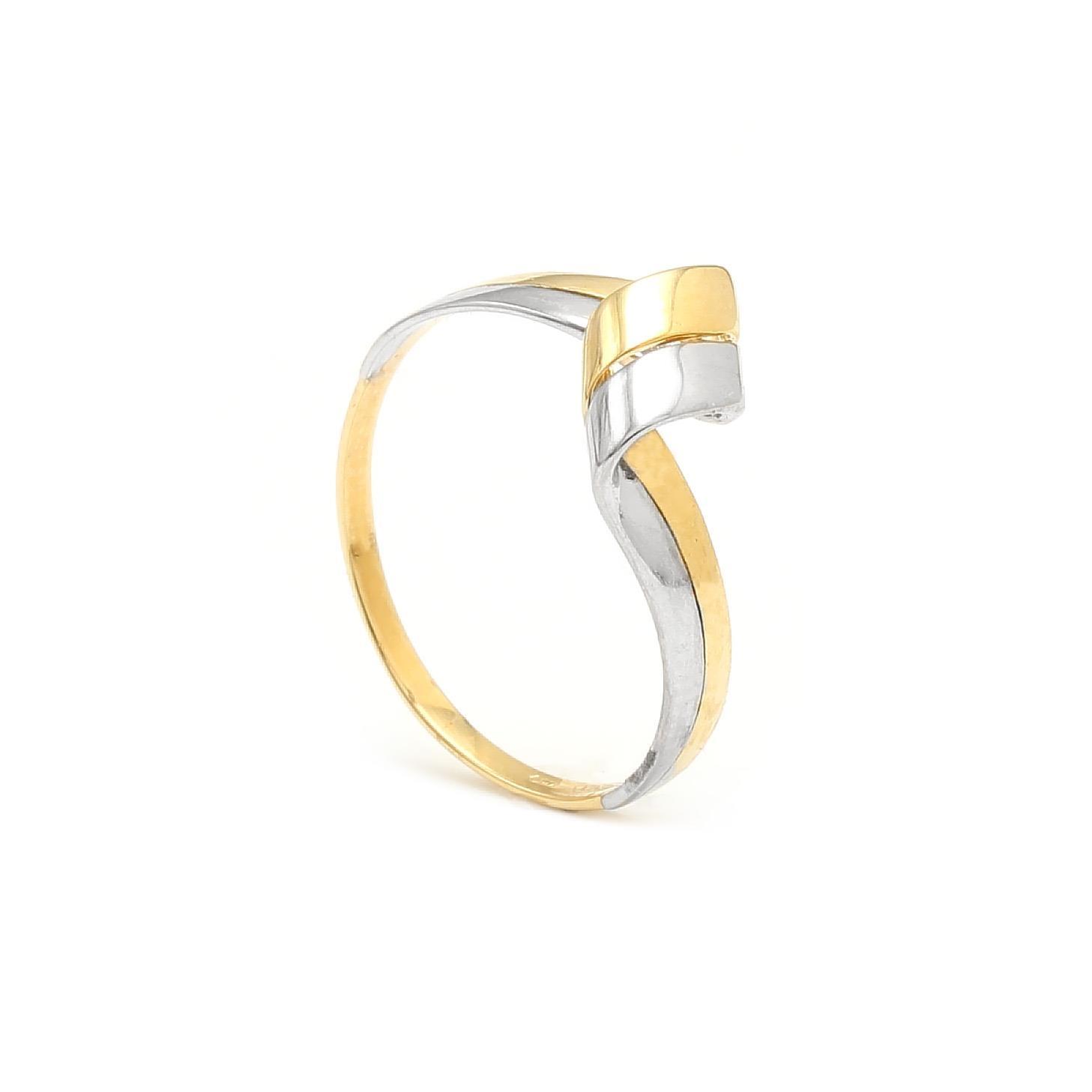 Zlatý dámsky prsteň OLYMPIA 6PK00295