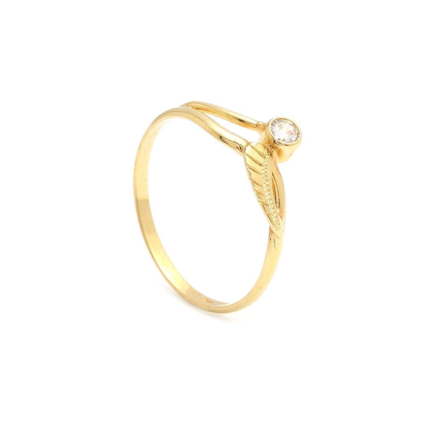 Zlatý dámsky prsteň ORNELLA 2PZ00130