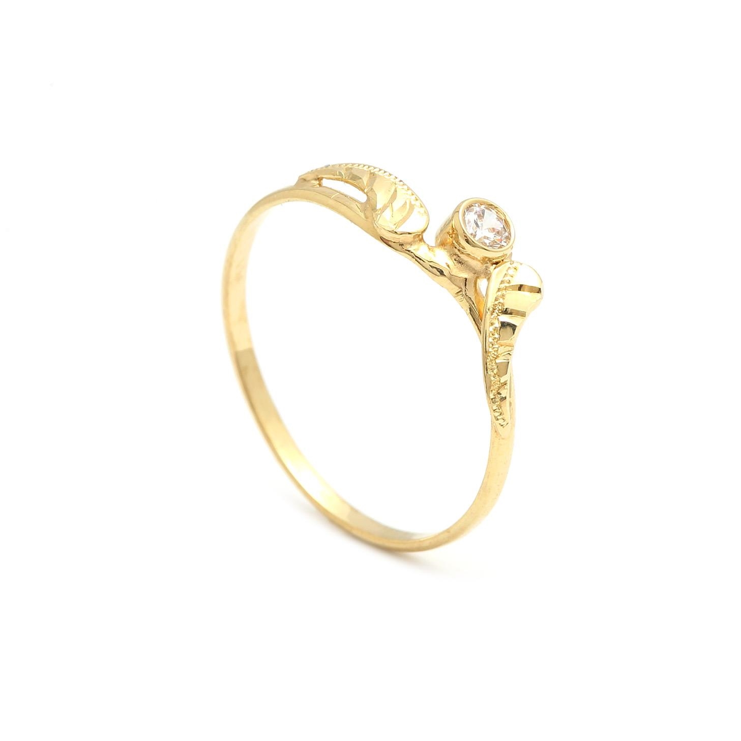 Zlatý dámsky prsteň ORSINA 2PZ00131