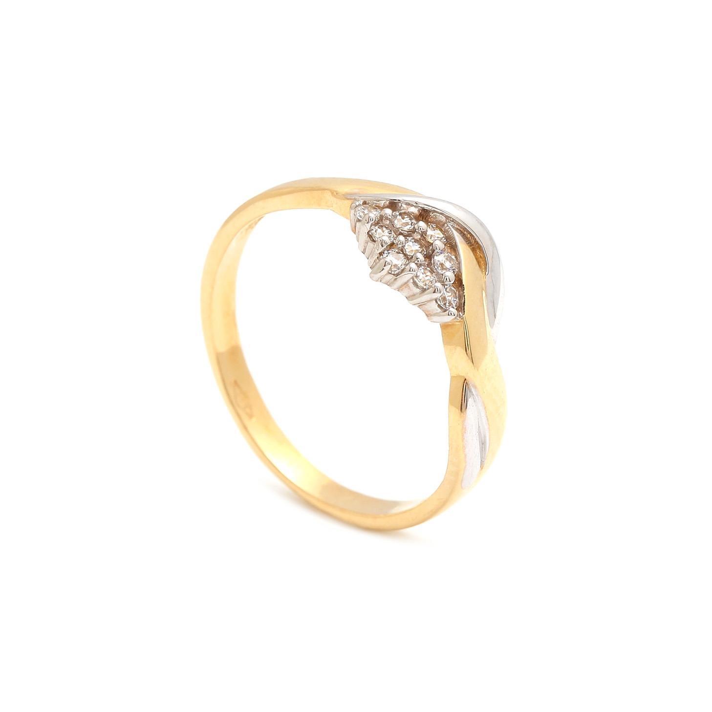 Zlatý dámsky prsteň ORSOLA 3PK00134