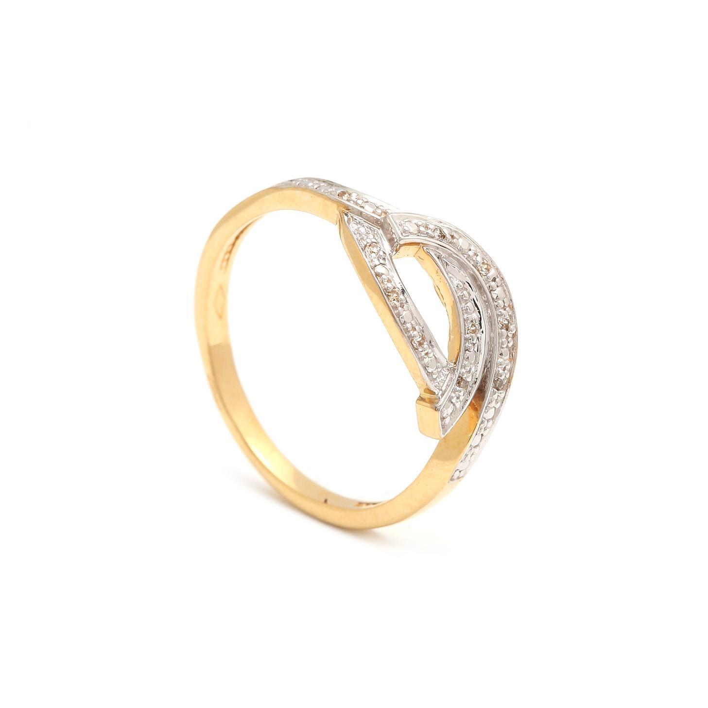Zlatý dámsky prsteň PINA 3PK00143