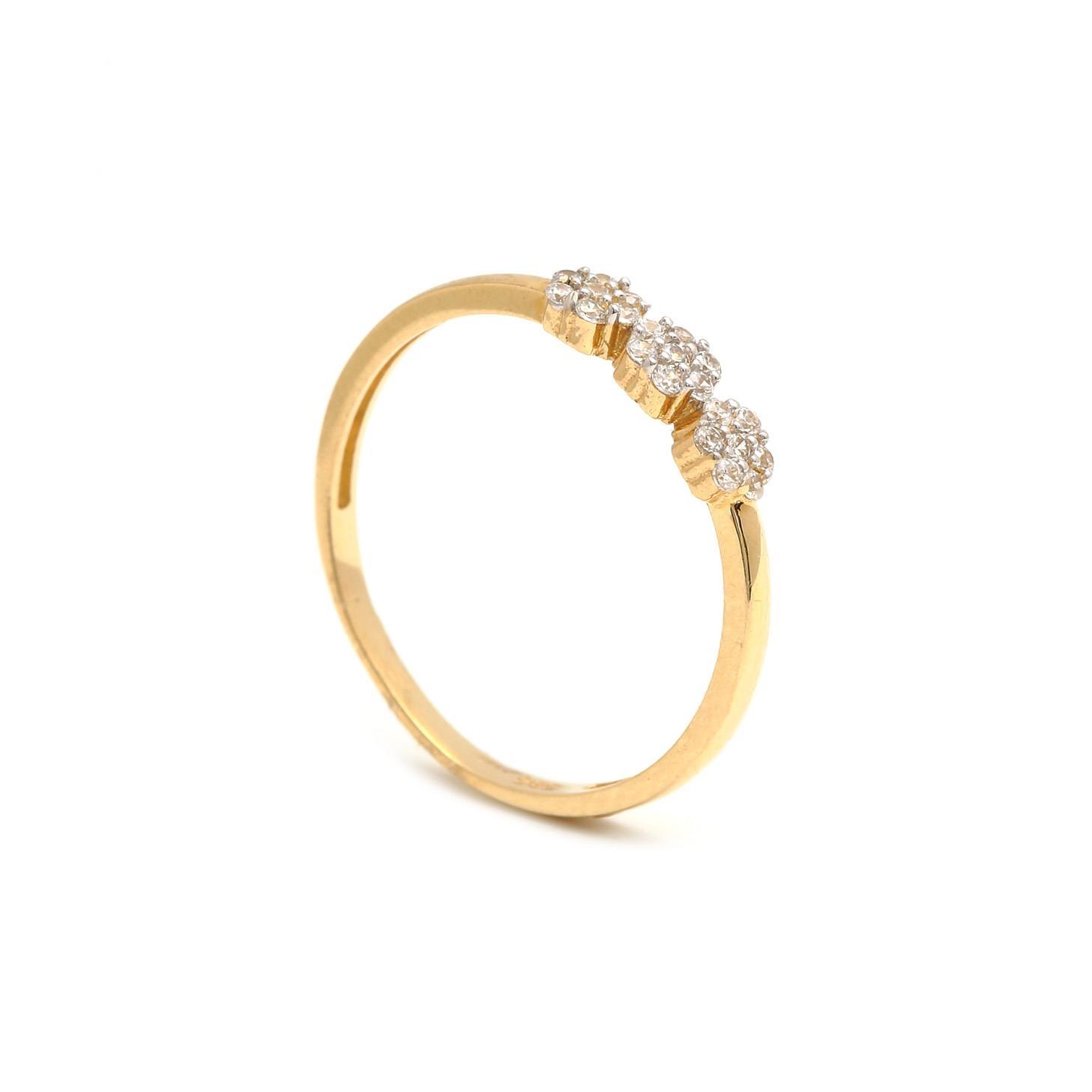 Zlatý dámsky prsteň POLYMNIA 1 1PZ00192