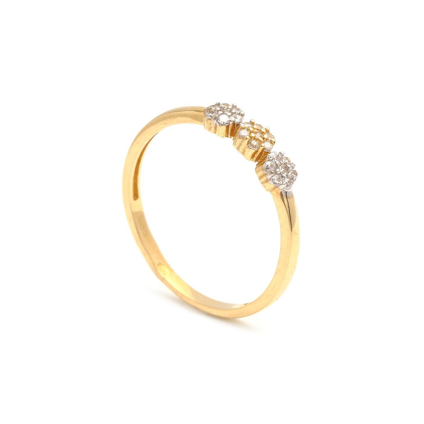 Zlatý dámsky prsteň POLYMNIA 1PZ00191