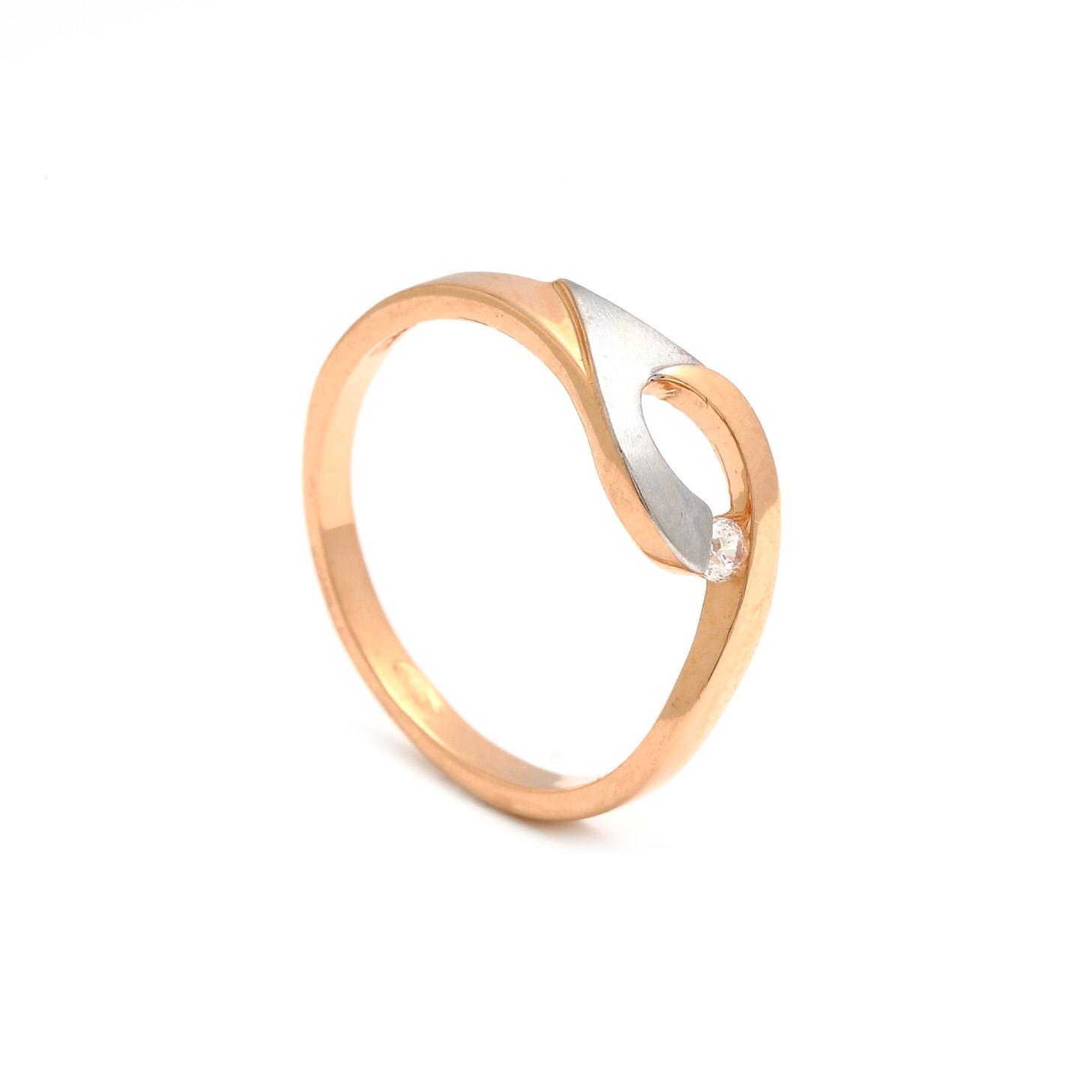 Zlatý dámsky prsteň RAFFAELA 3PK00145