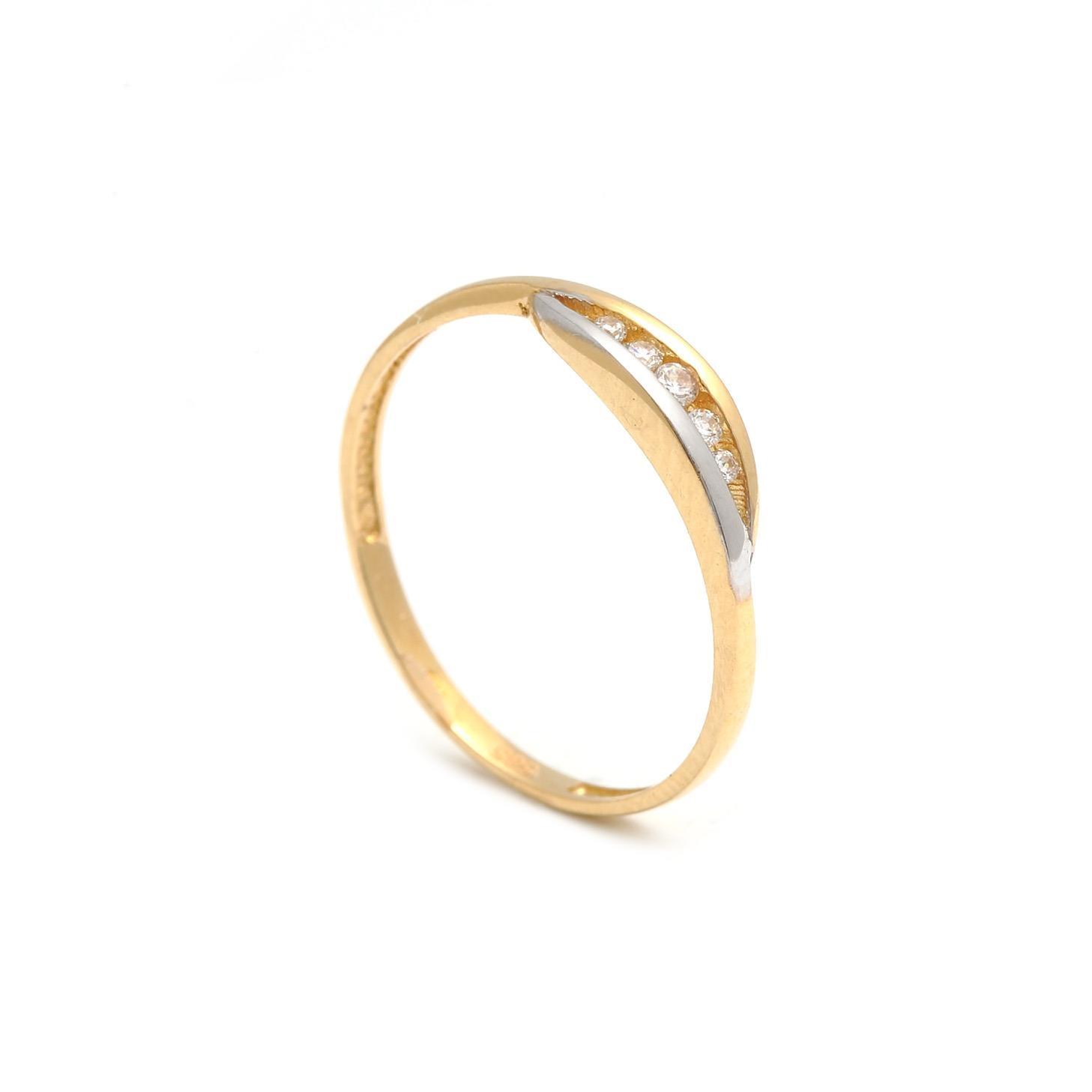 Zlatý dámsky prsteň RAIMONDA FIVE 1PK00188