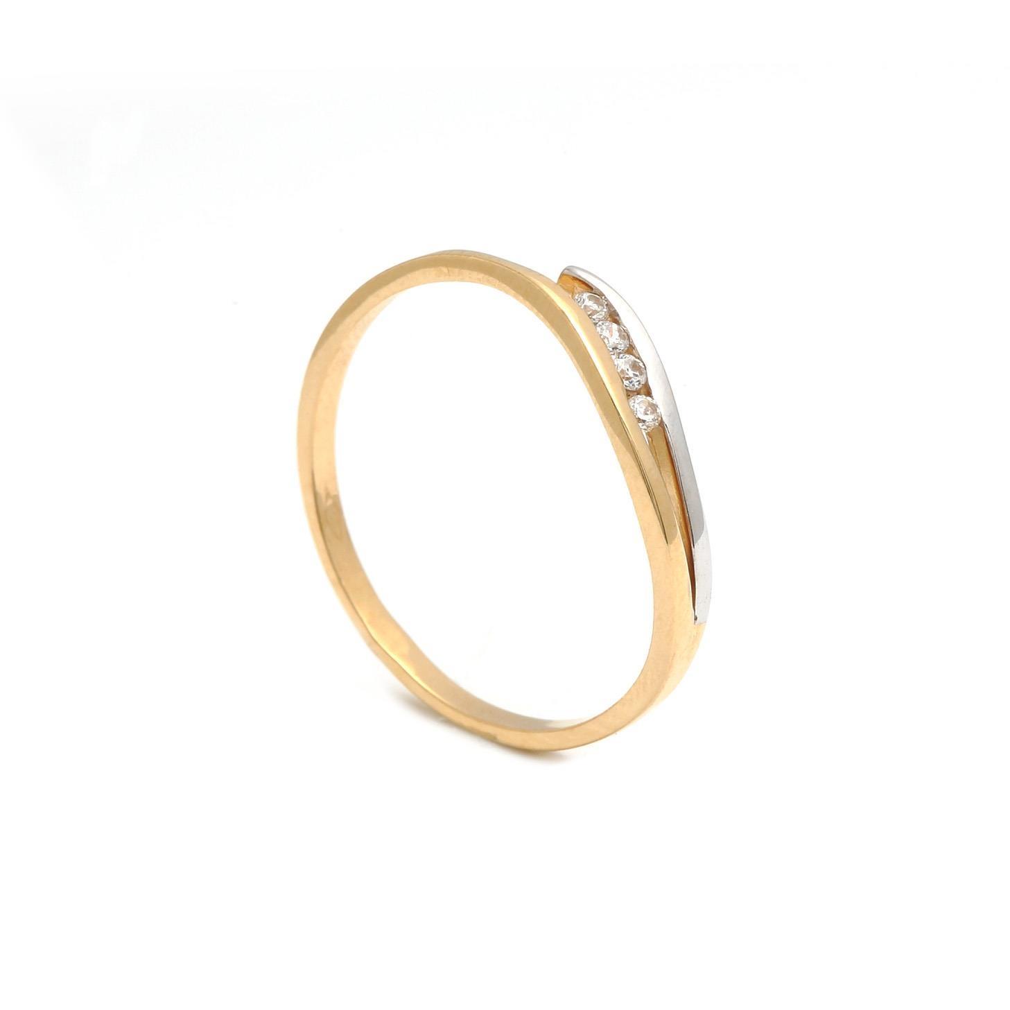 Zlatý dámsky prsteň RAIMONDA 3PK00146