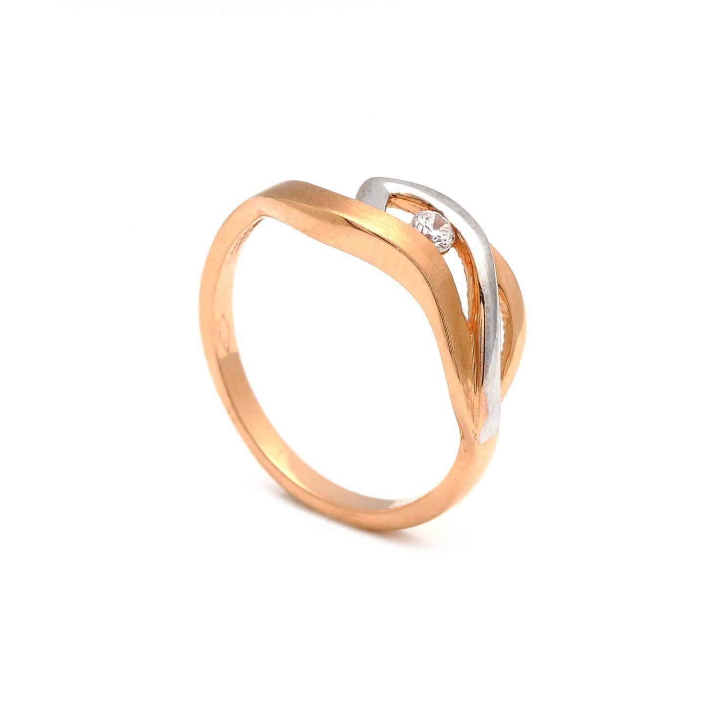 Zlatý dámsky prsteň RENATA 3PK00148