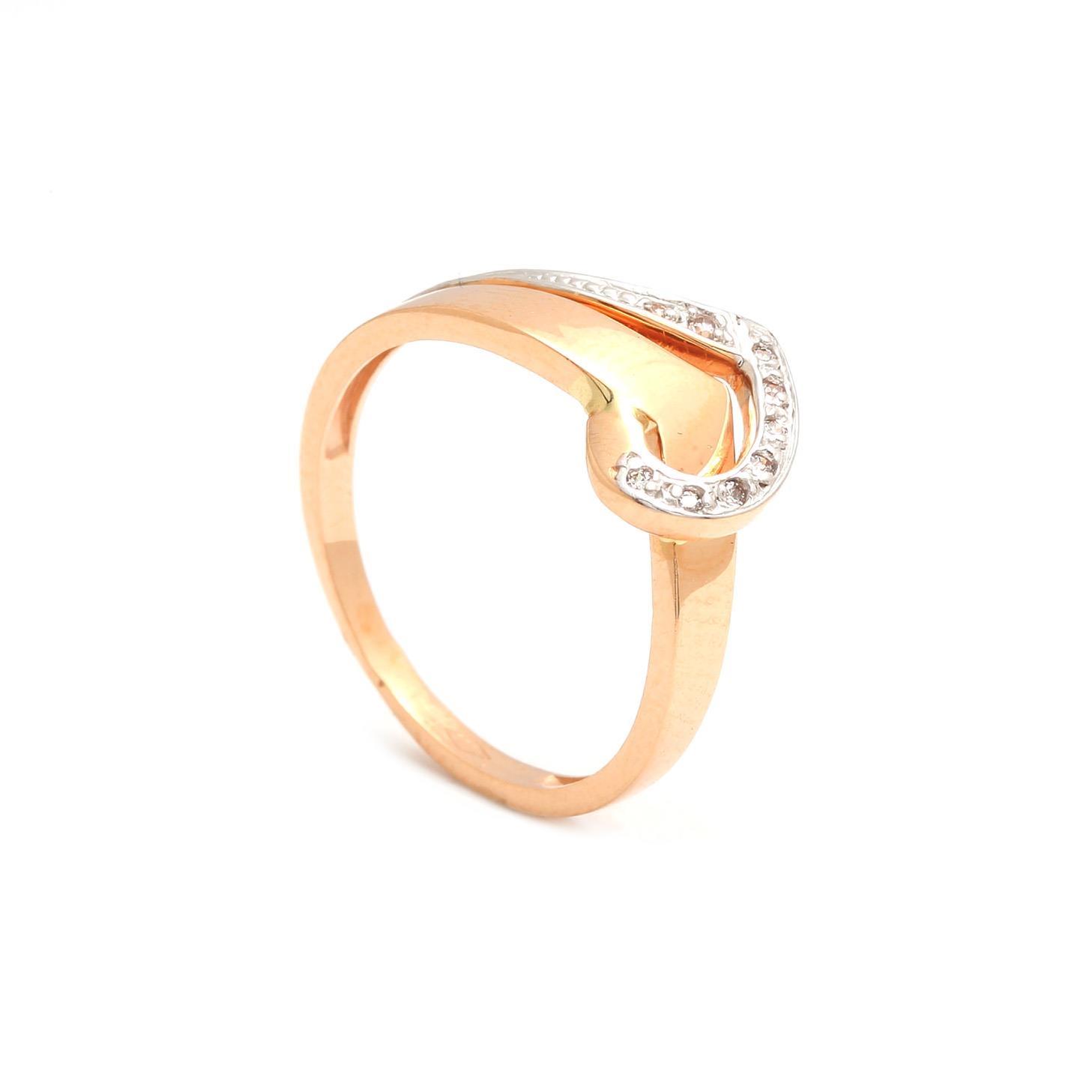 Zlatý dámsky prsteň RICCARDA 3PK00149