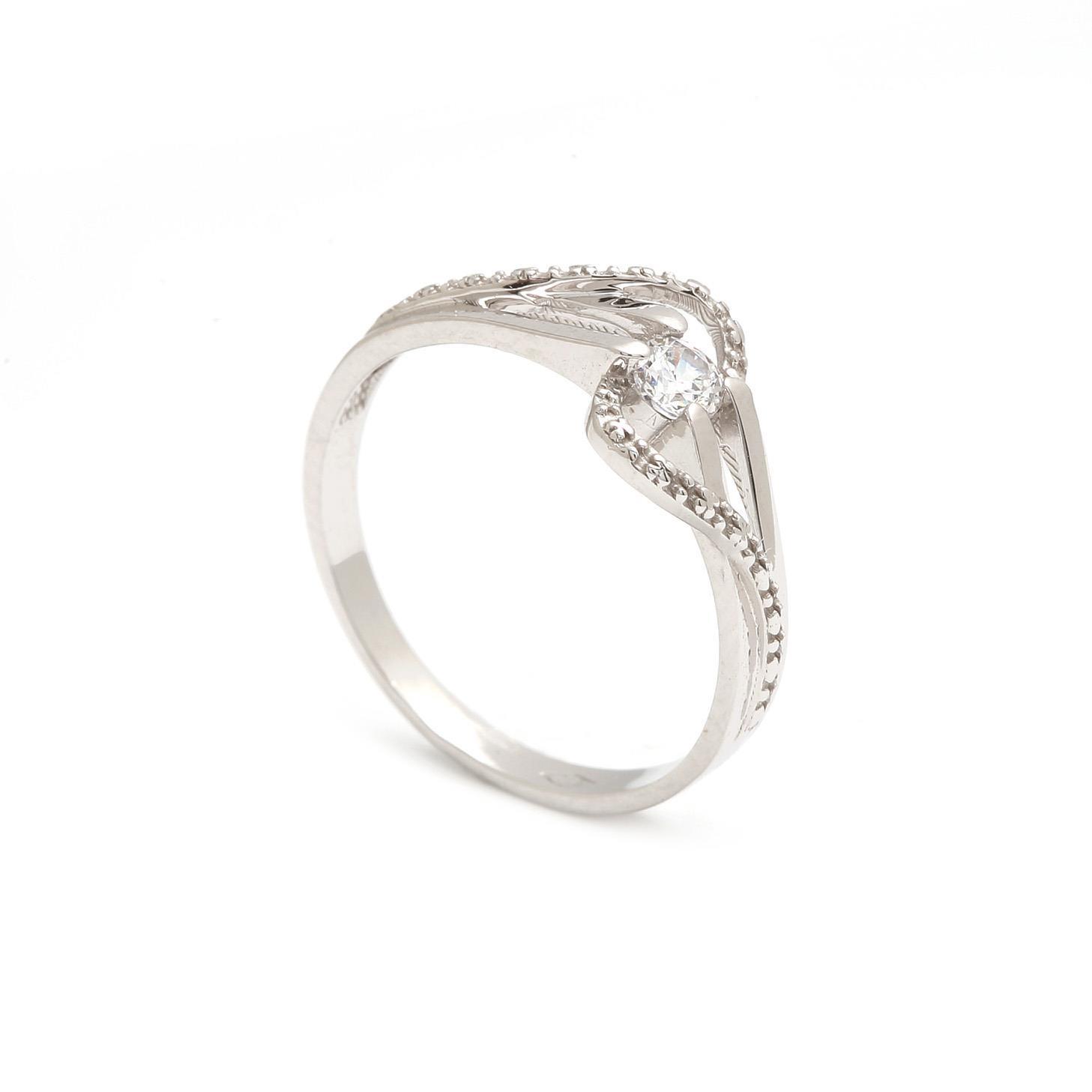 Zlatý dámsky prsteň ROBERTINA 3PB00151