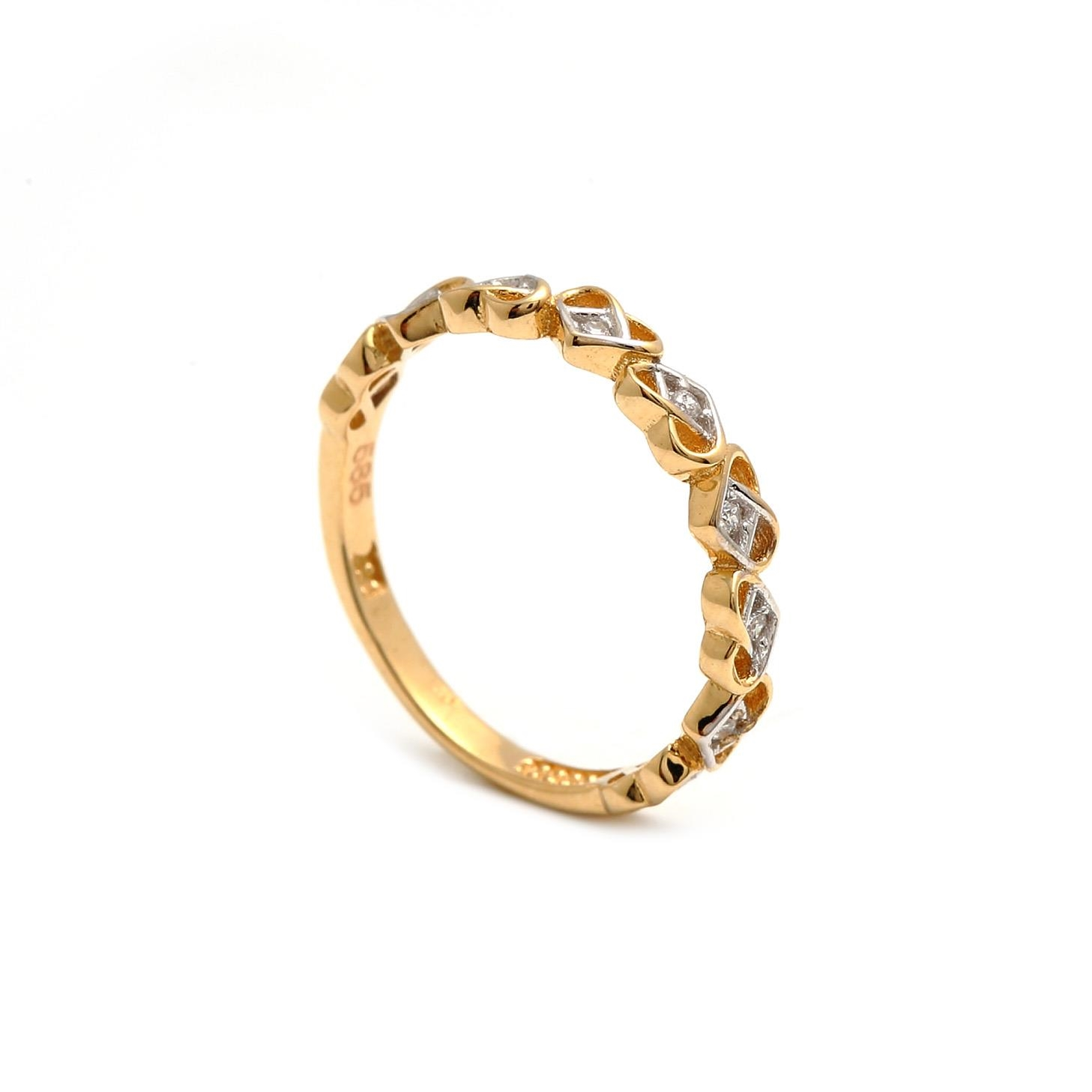 Zlatý dámsky prsteň SAMUELA 1PZ00157
